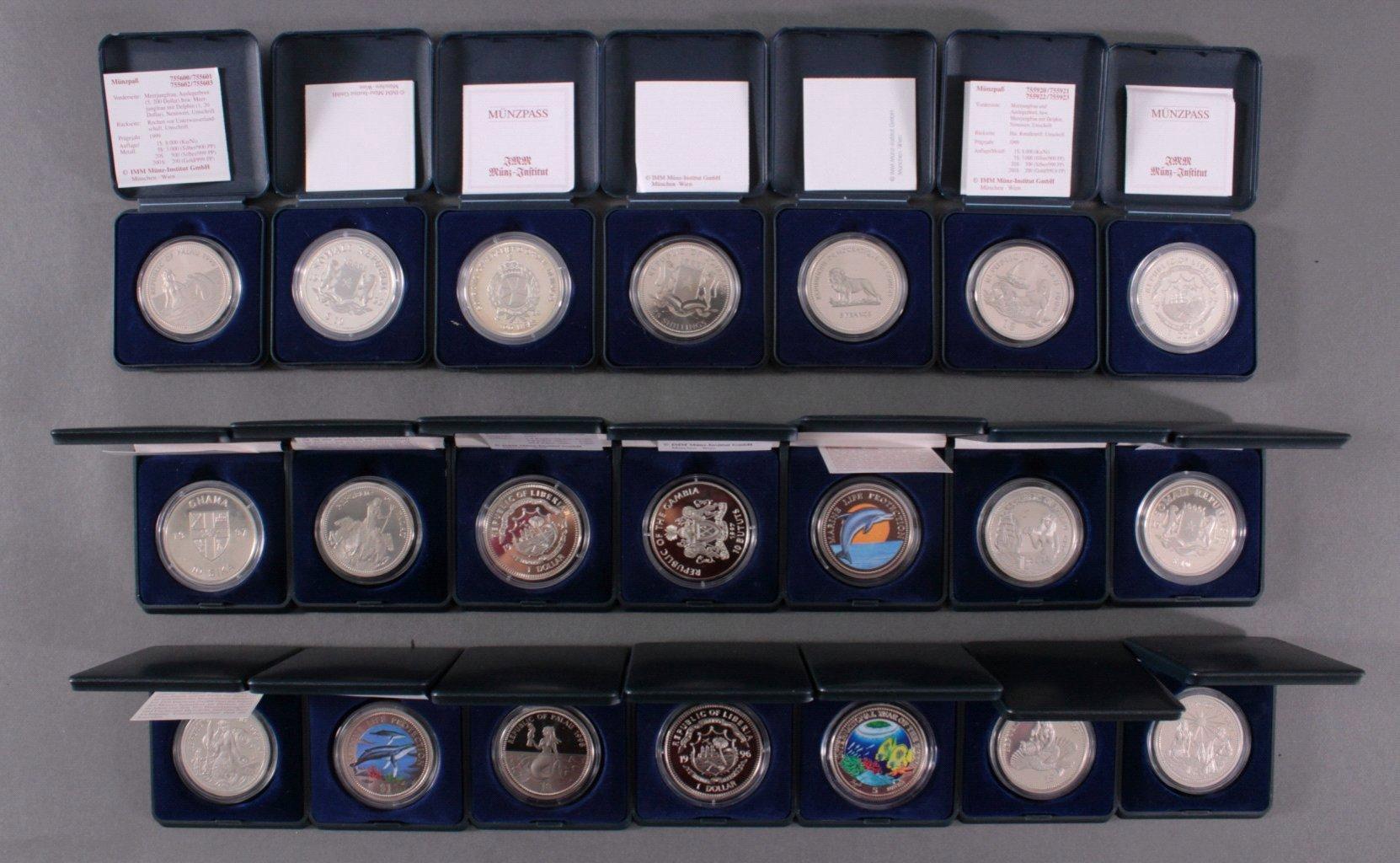 Sammlung Farbmünzen-3