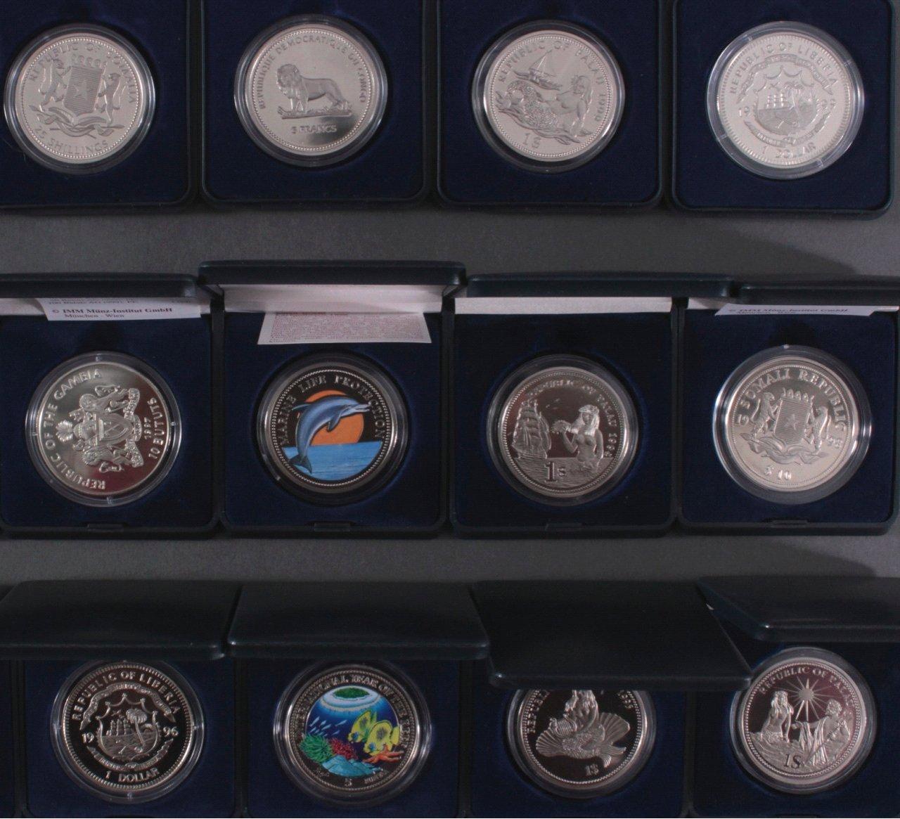 Sammlung Farbmünzen-5