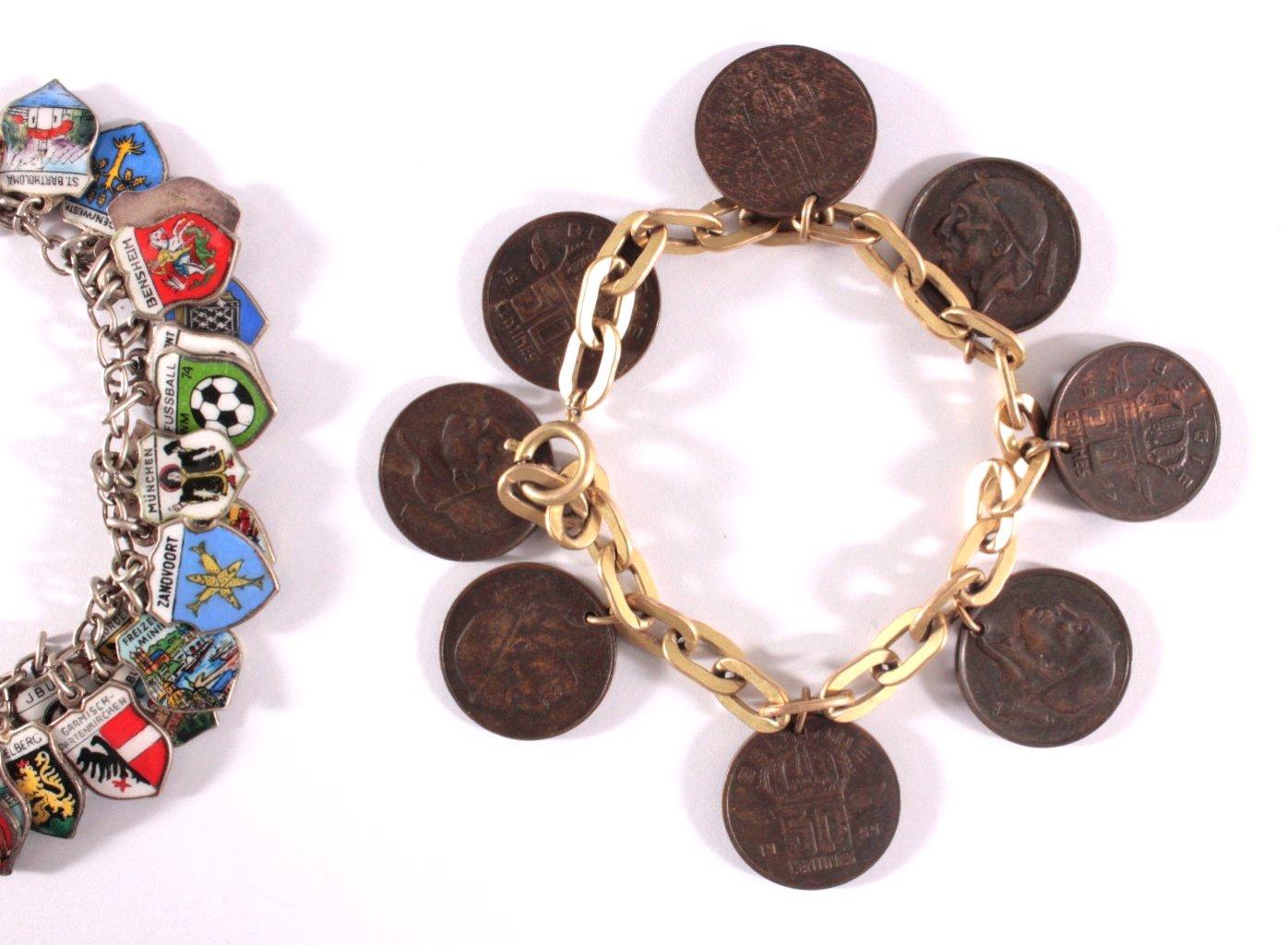 Münz- und Andenkenarmband-1