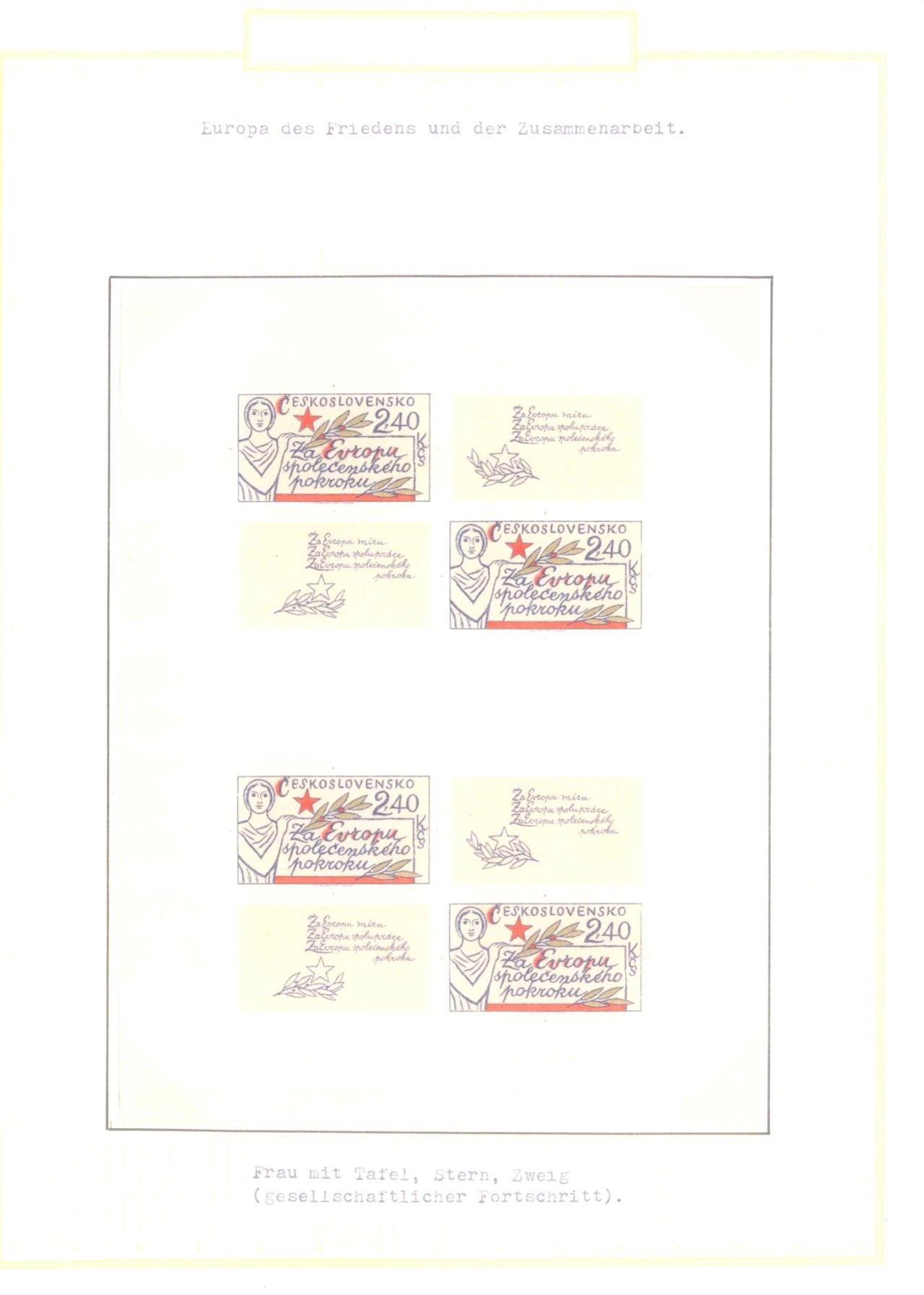 Ausstellungssammlung CSSR 1945-1992-3
