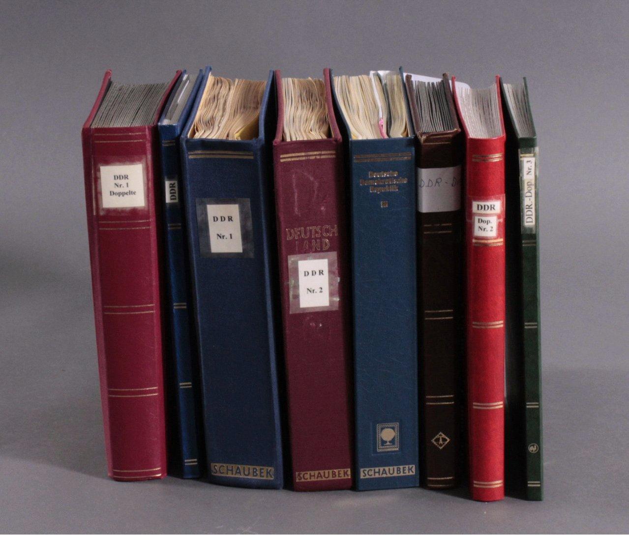 Gestempelte Sammlung DDR 1949-1990