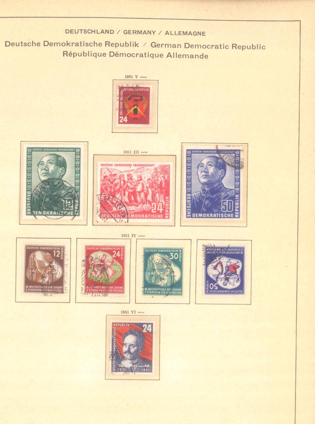Gestempelte Sammlung DDR 1949-1990-4