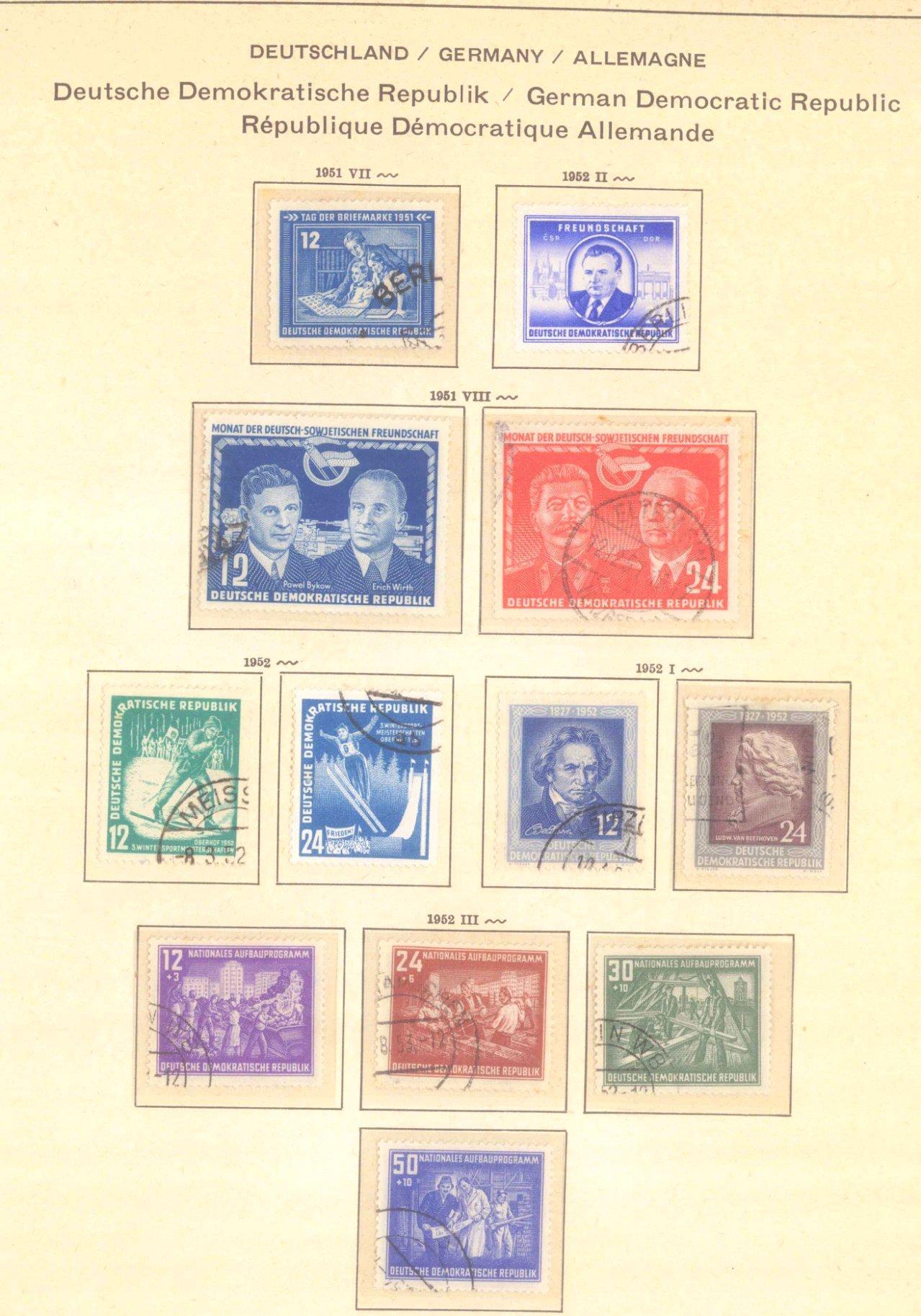 Gestempelte Sammlung DDR 1949-1990-5