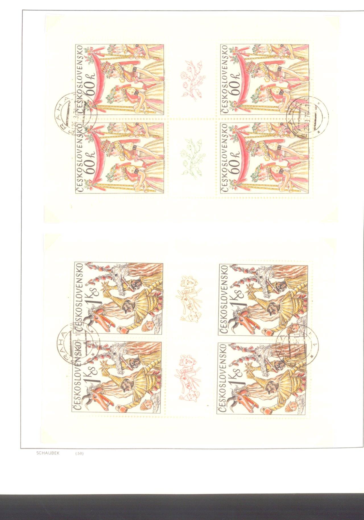 Gestempelte Sammlung DDR 1949-1990-6