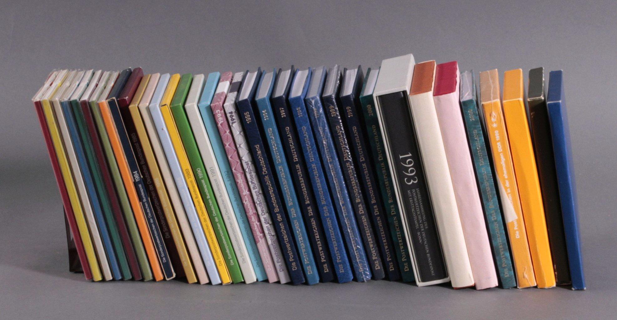 Jahreszusammenstellung Bund und DDR 1976 bis 2002