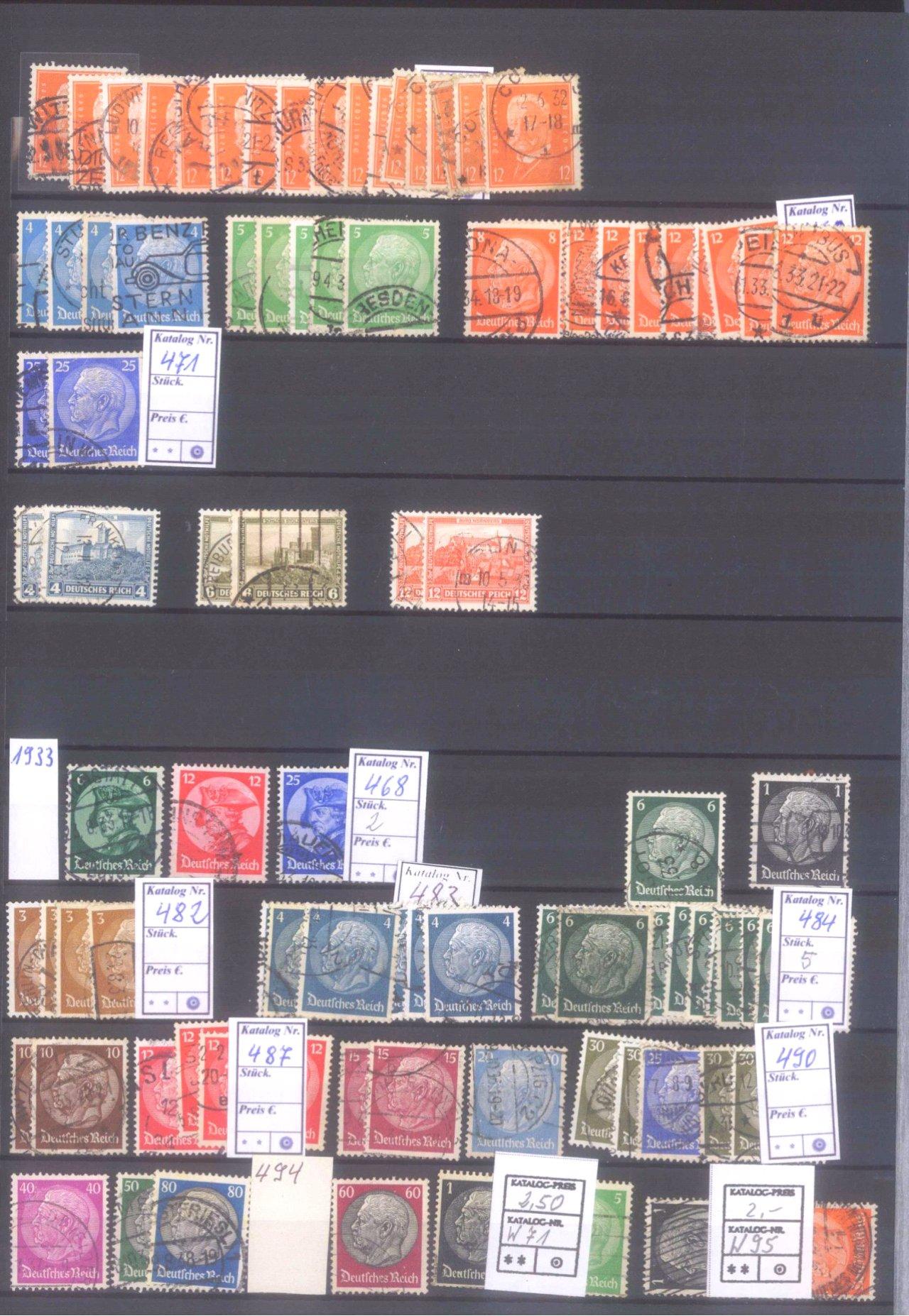 Dubletten Nachlass Deutsches Reich-13