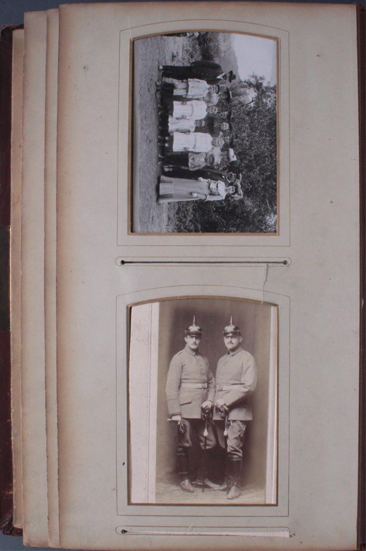 Einsteck-Fotoalbum um 1900-3