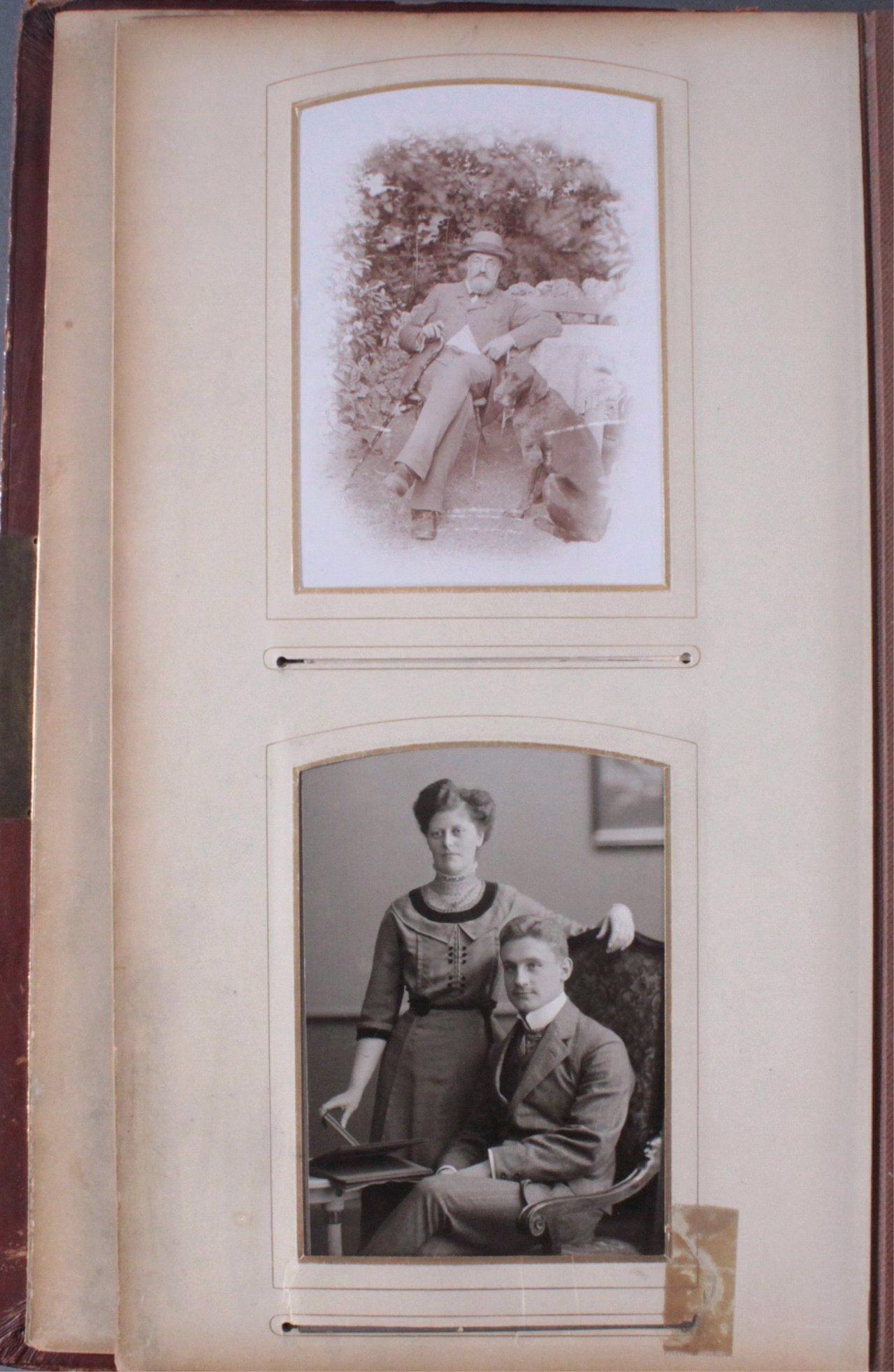 Einsteck-Fotoalbum um 1900-5