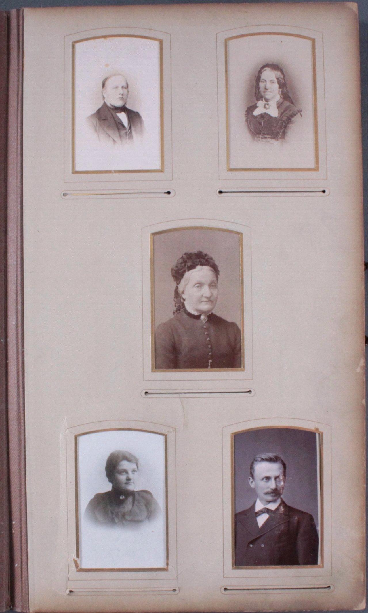 Einsteck-Fotoalbum um 1900-6