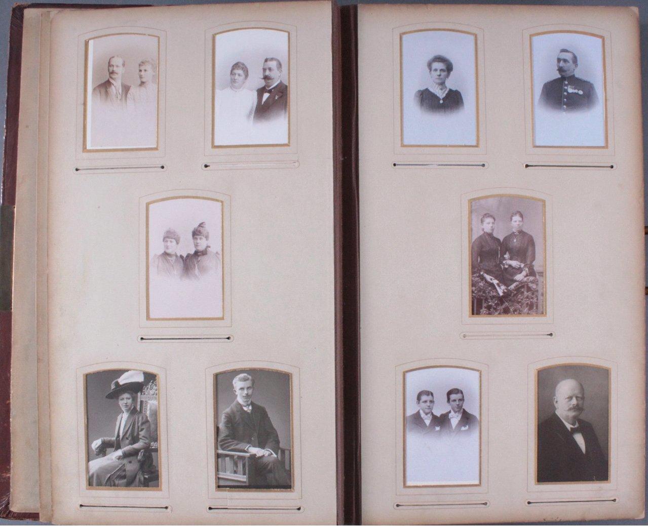 Einsteck-Fotoalbum um 1900-7