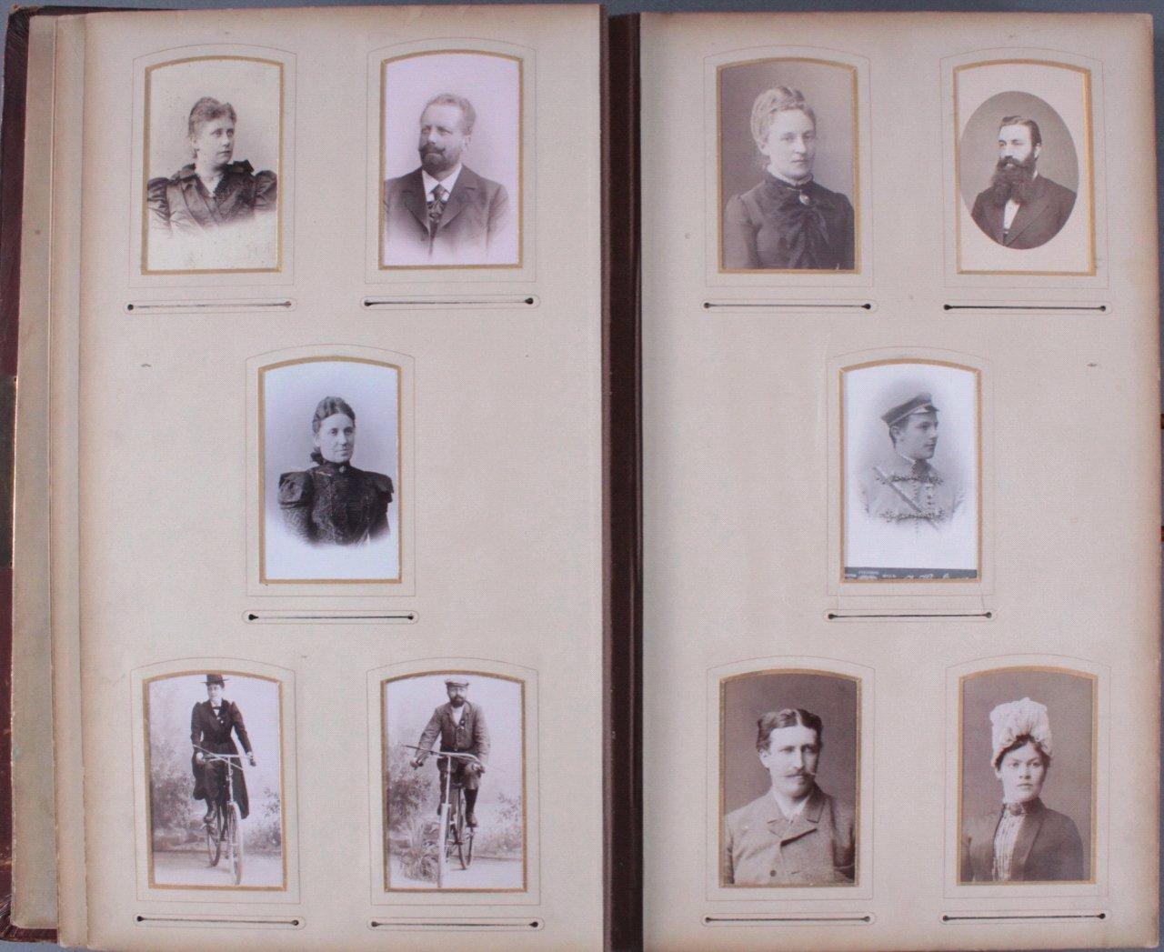 Einsteck-Fotoalbum um 1900-9