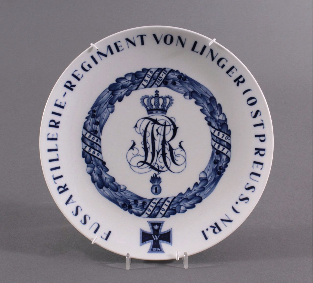 Regiments-Teller, Meissen