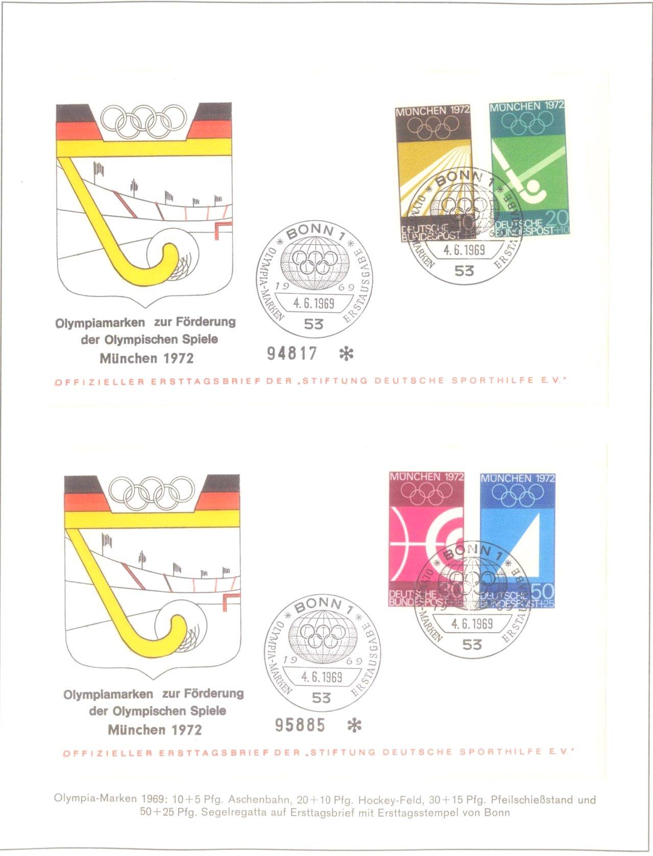 Olympiade München 1972-3