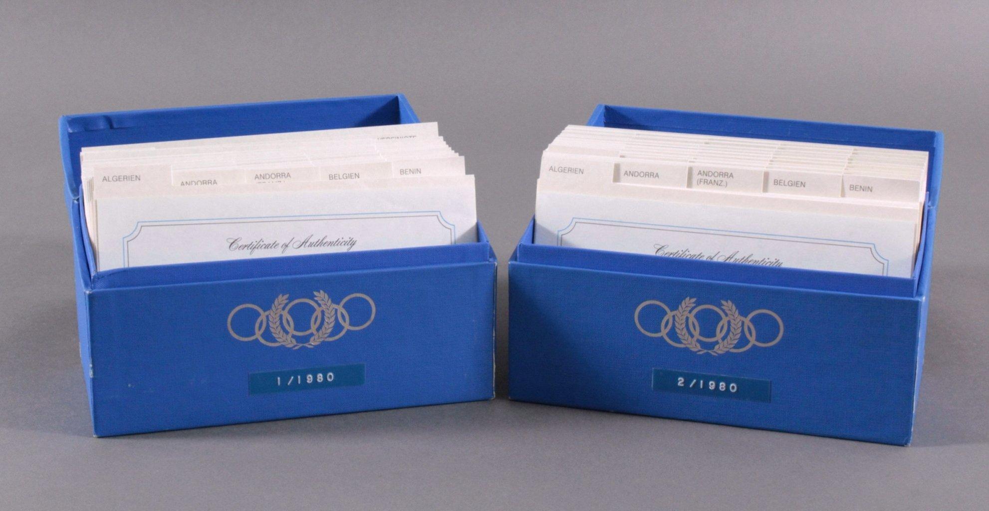 2x Olympiade Lake Placid 1980