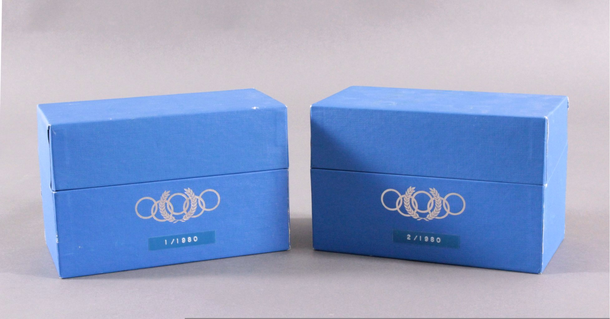 2x Olympiade Lake Placid 1980