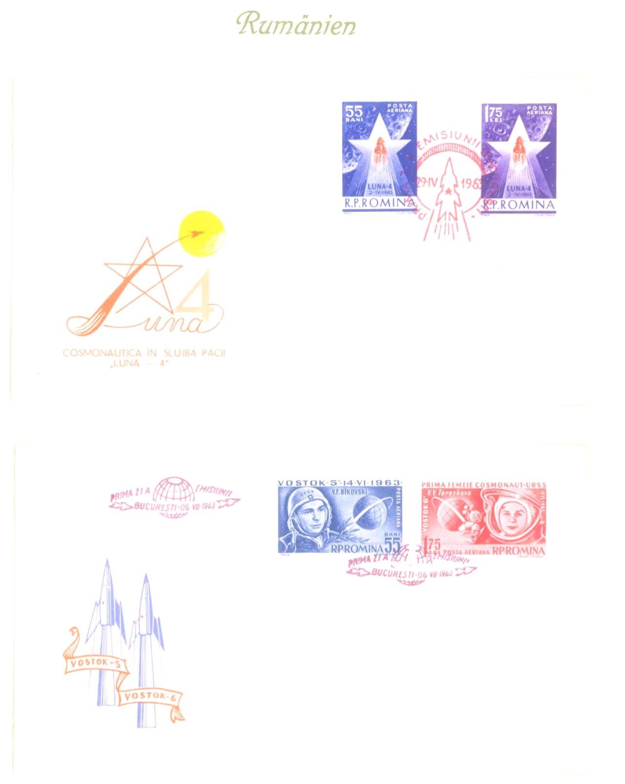 Luftpost / Weltraum, Blick in die Welt-2