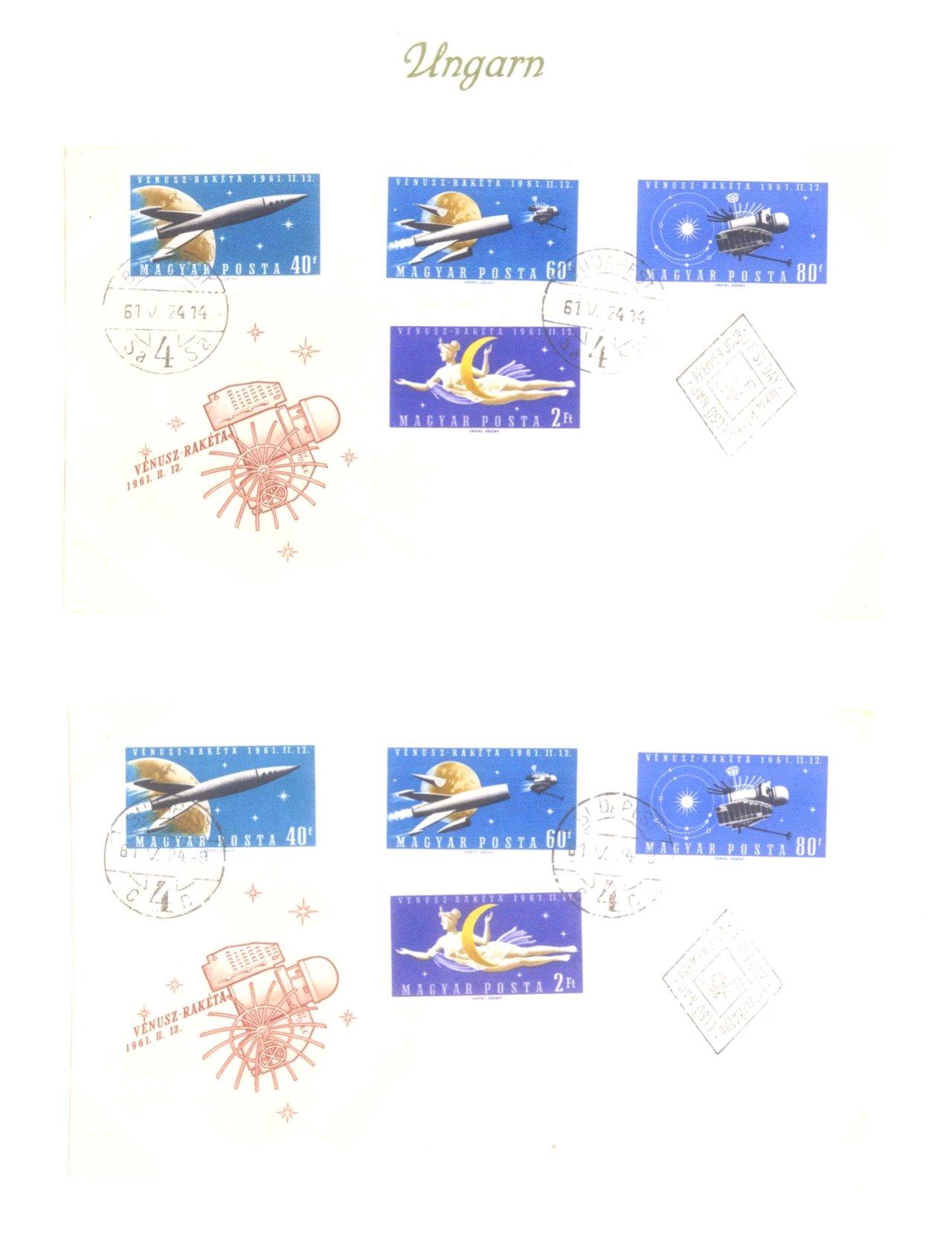 Luftpost / Weltraum, Blick in die Welt-8