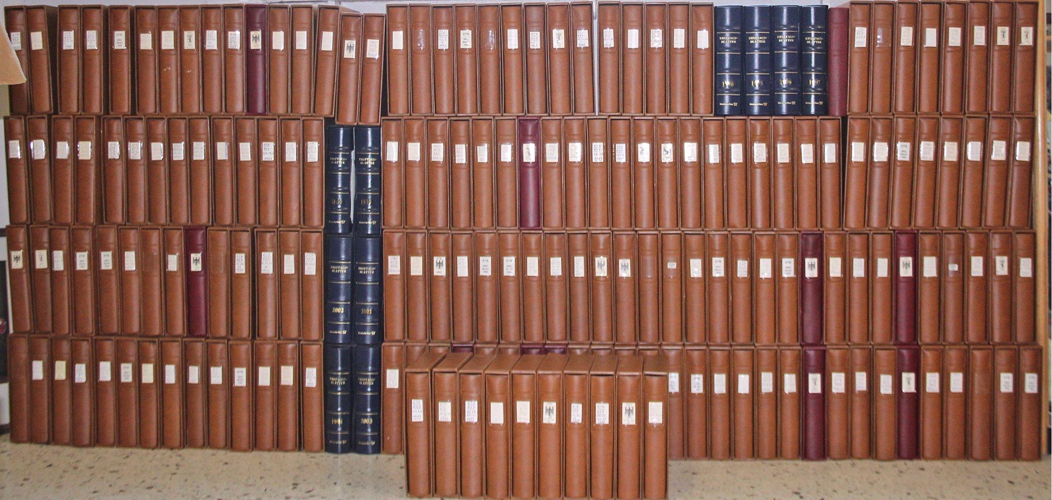 Über 180 Alben ETB Bund und Berlin