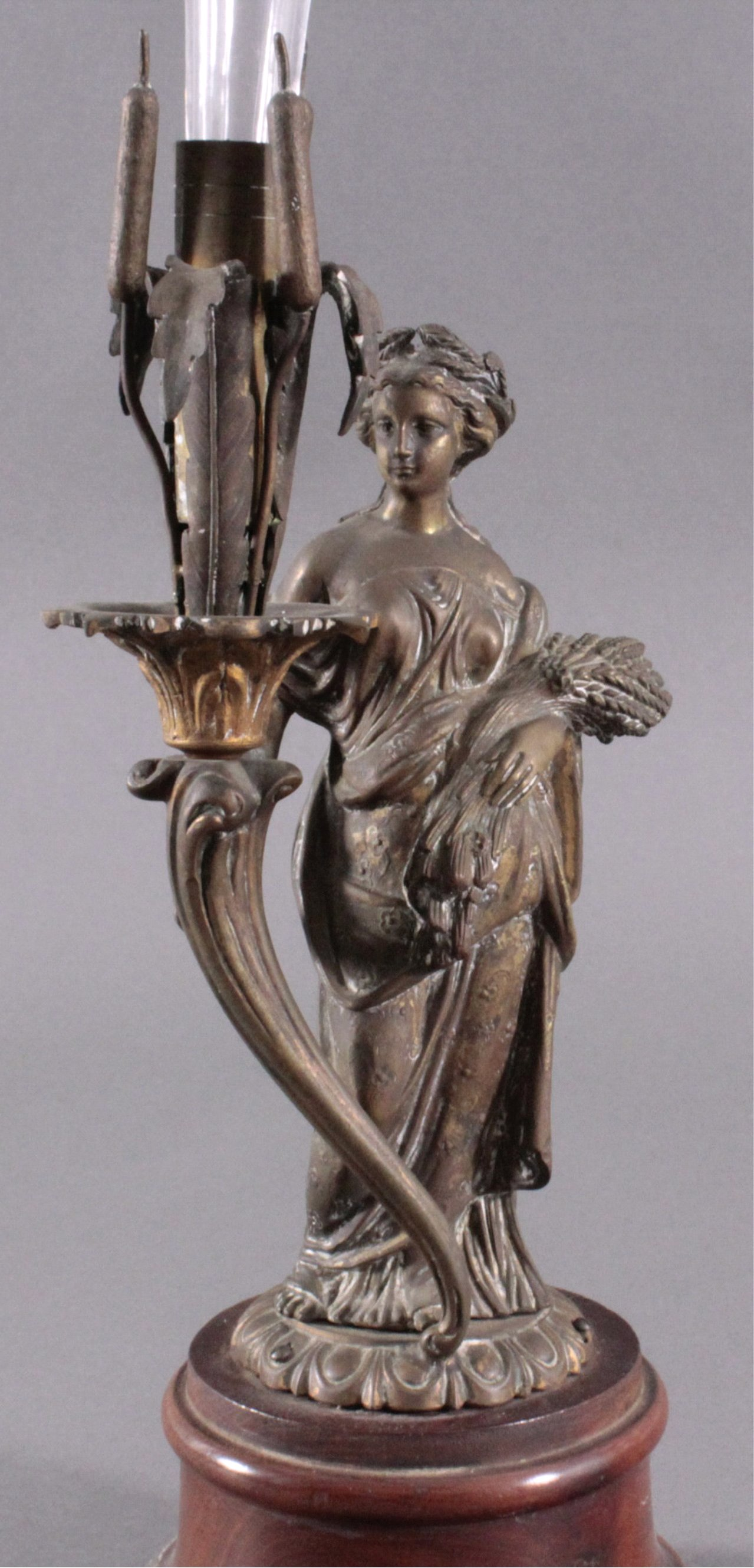 Bronze-Skulptur um 1900
