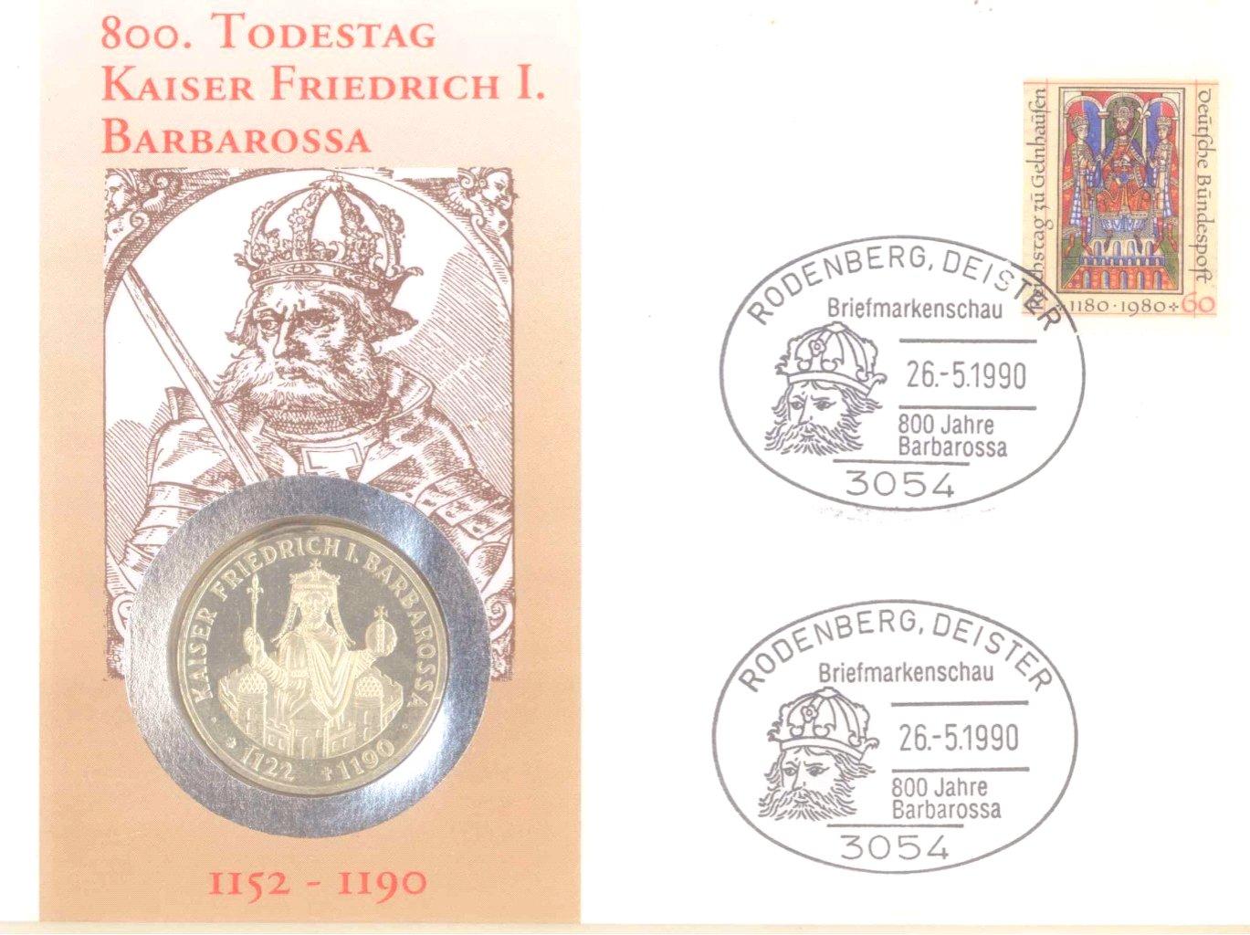 Sammlung Borek Numisbriefe im Ringbinder-5