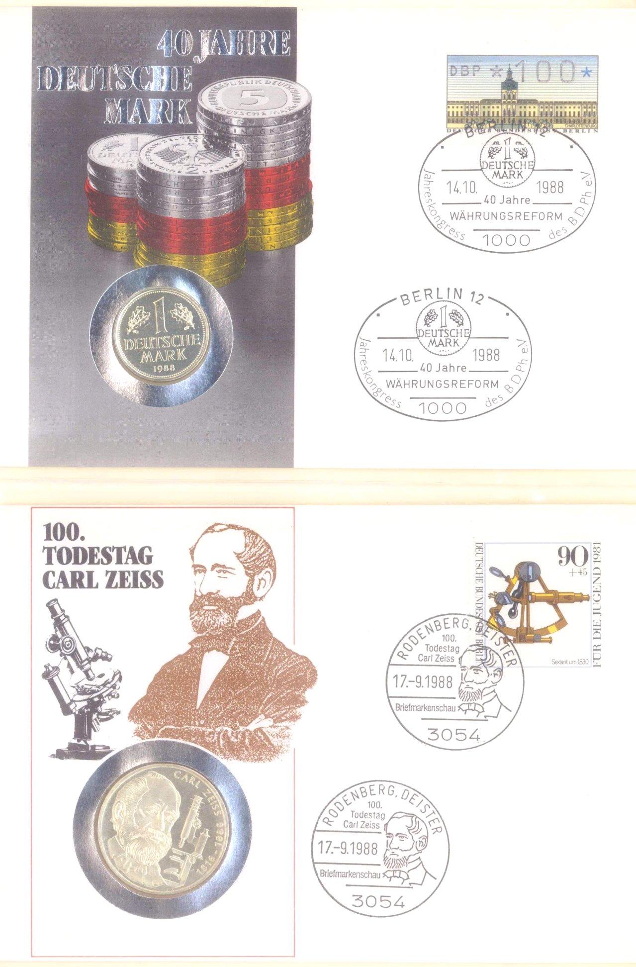 Sammlung Borek Numisbriefe im Ringbinder-10