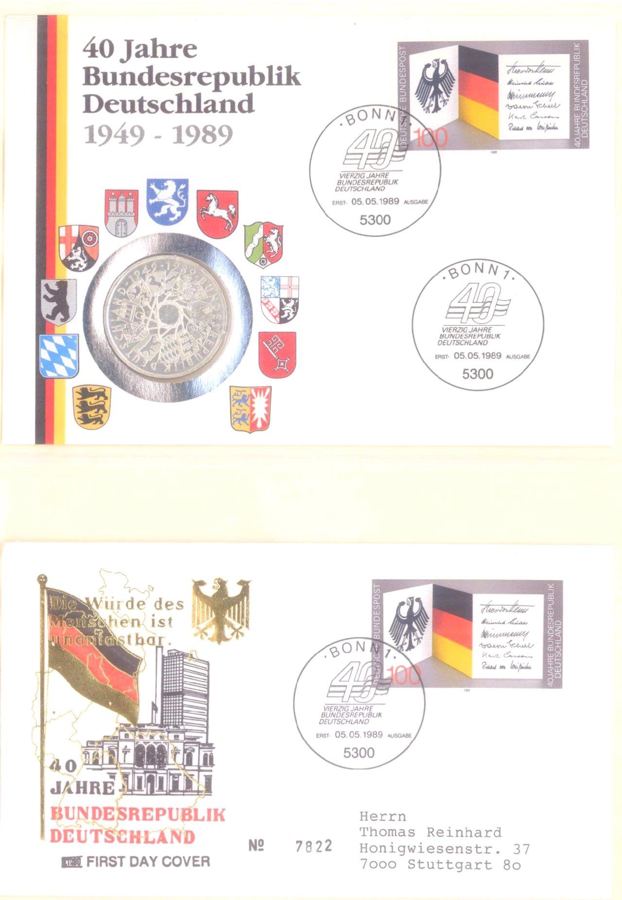 Sammlung Borek Numisbriefe im Ringbinder-11