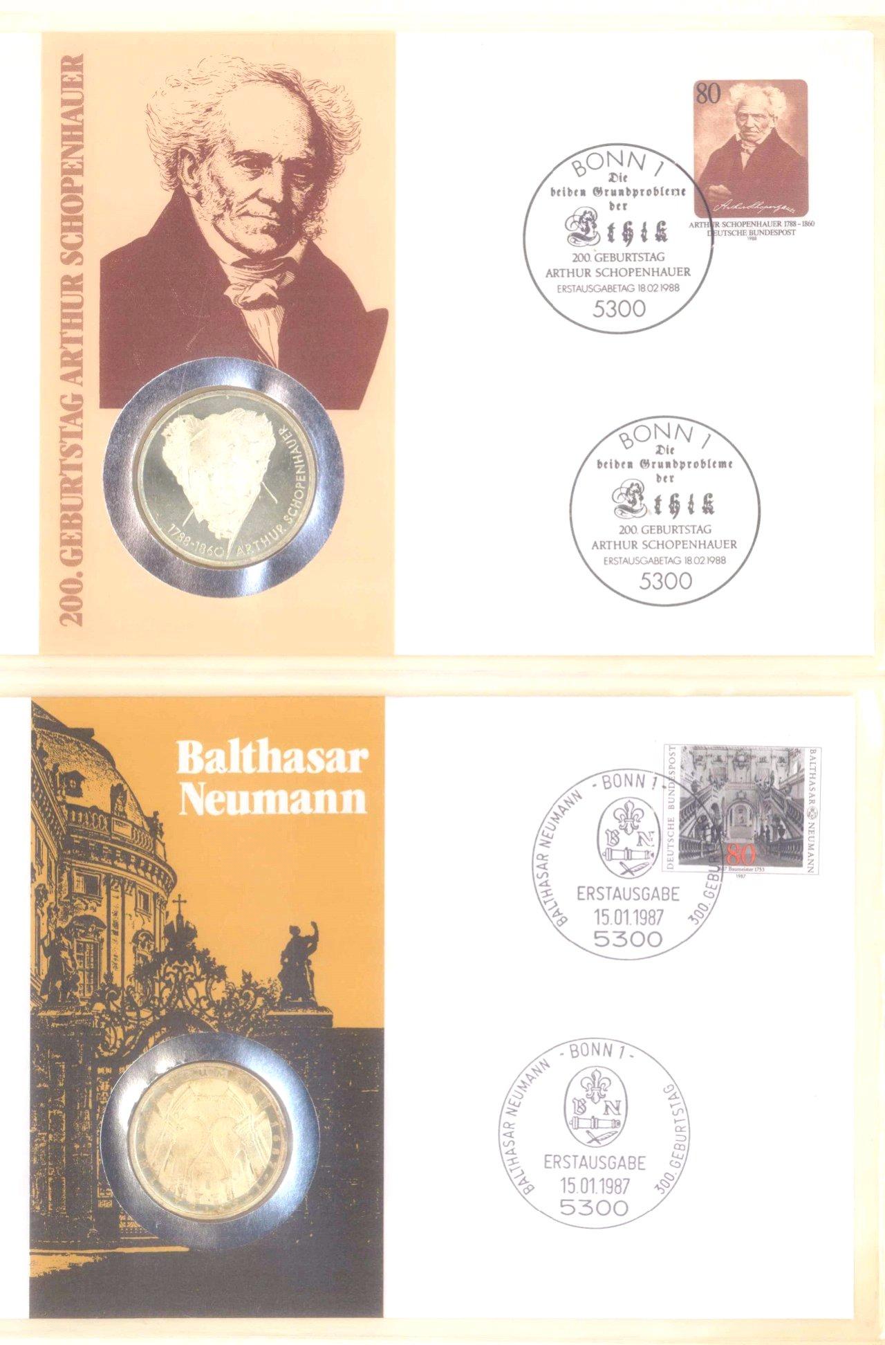 Sammlung Borek Numisbriefe im Ringbinder-13
