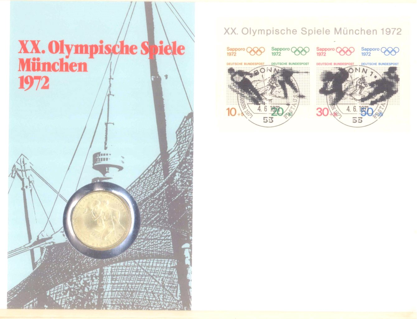 Sammlung Borek Numisbriefe im Ringbinder-17