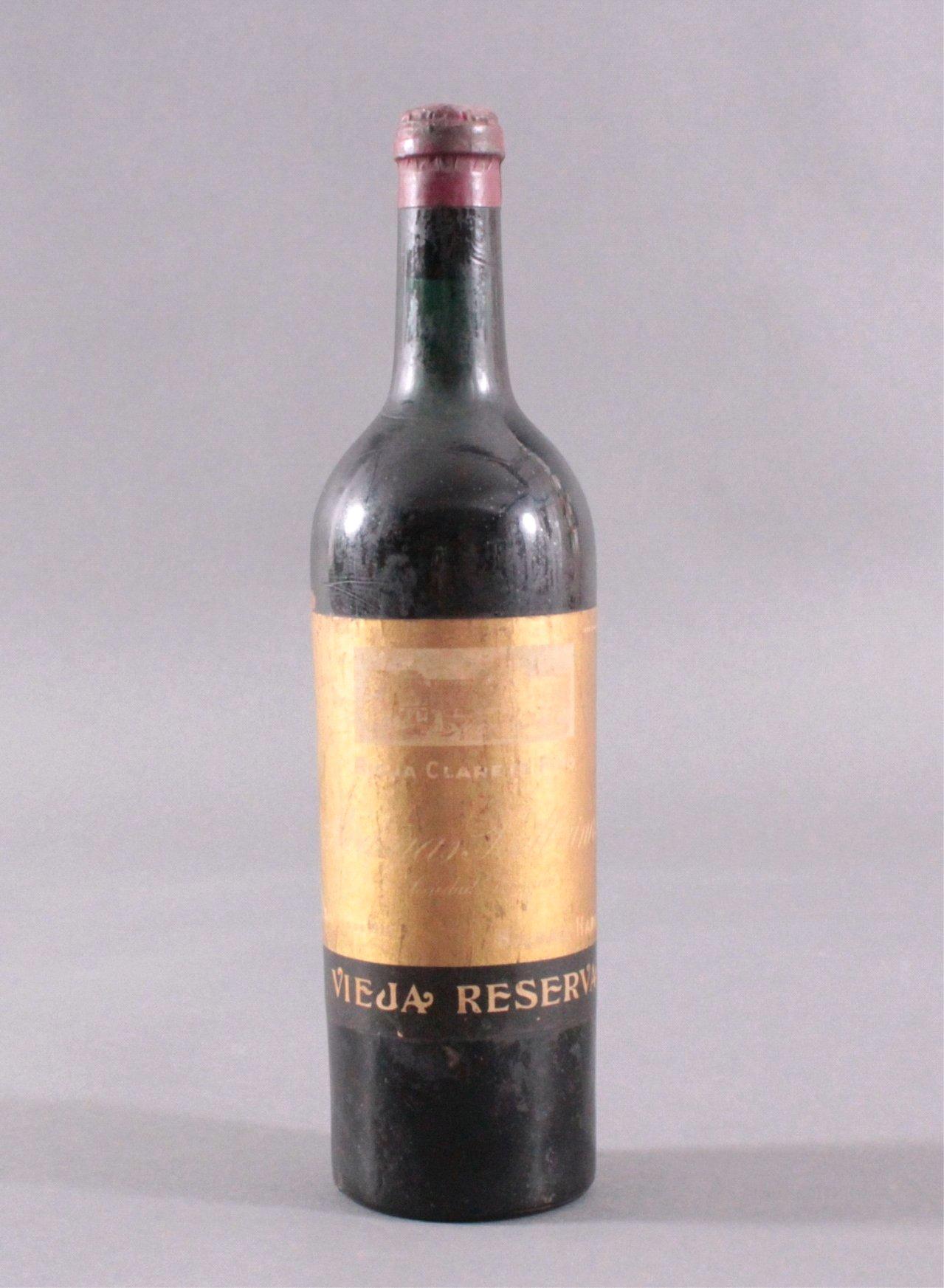 Rotwein, Vieja Reserva, Rioja Clarete Fino 1912