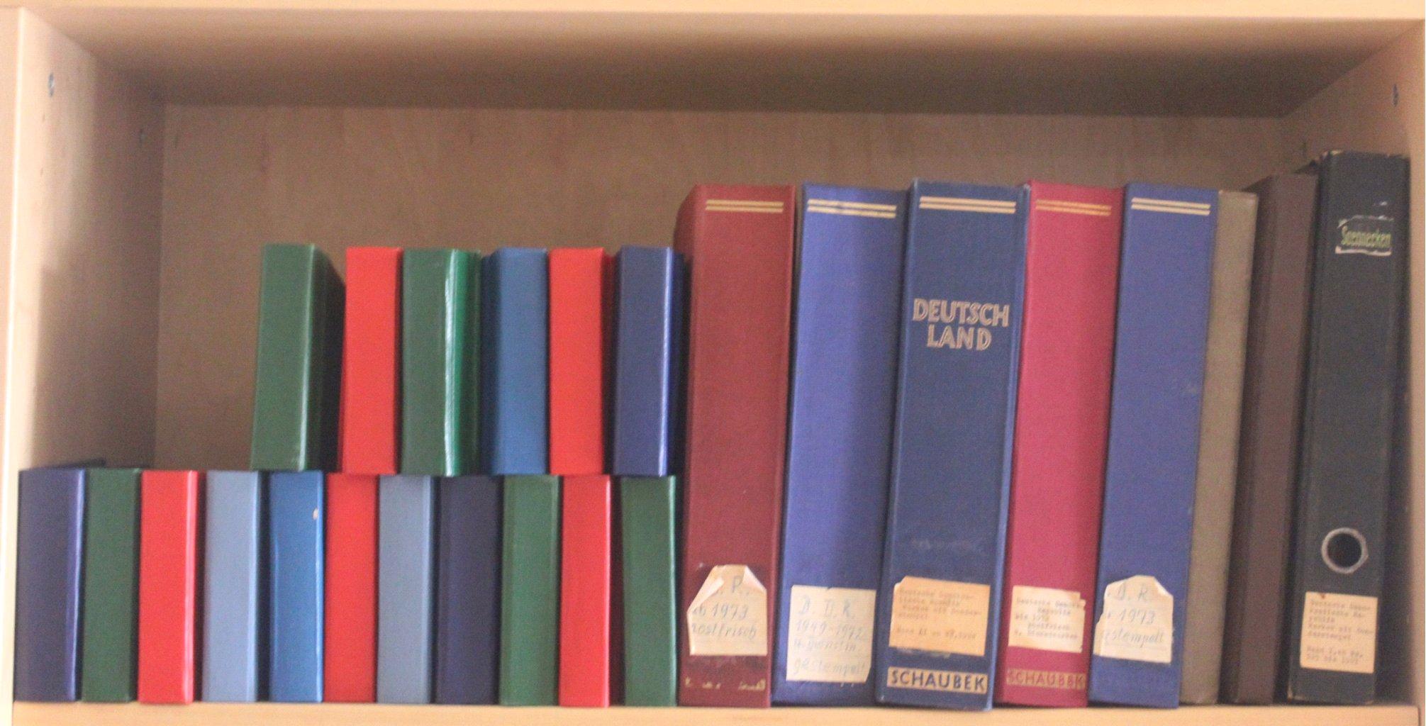 Sammlung DDR 1949-1990 + FDCs, Briefe…