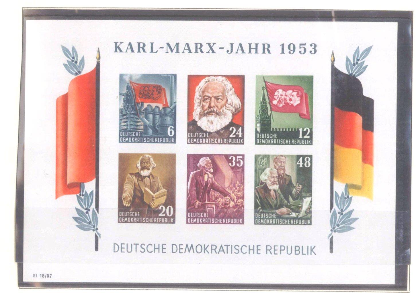 Sammlung DDR 1949-1990 + FDCs, Briefe…-1
