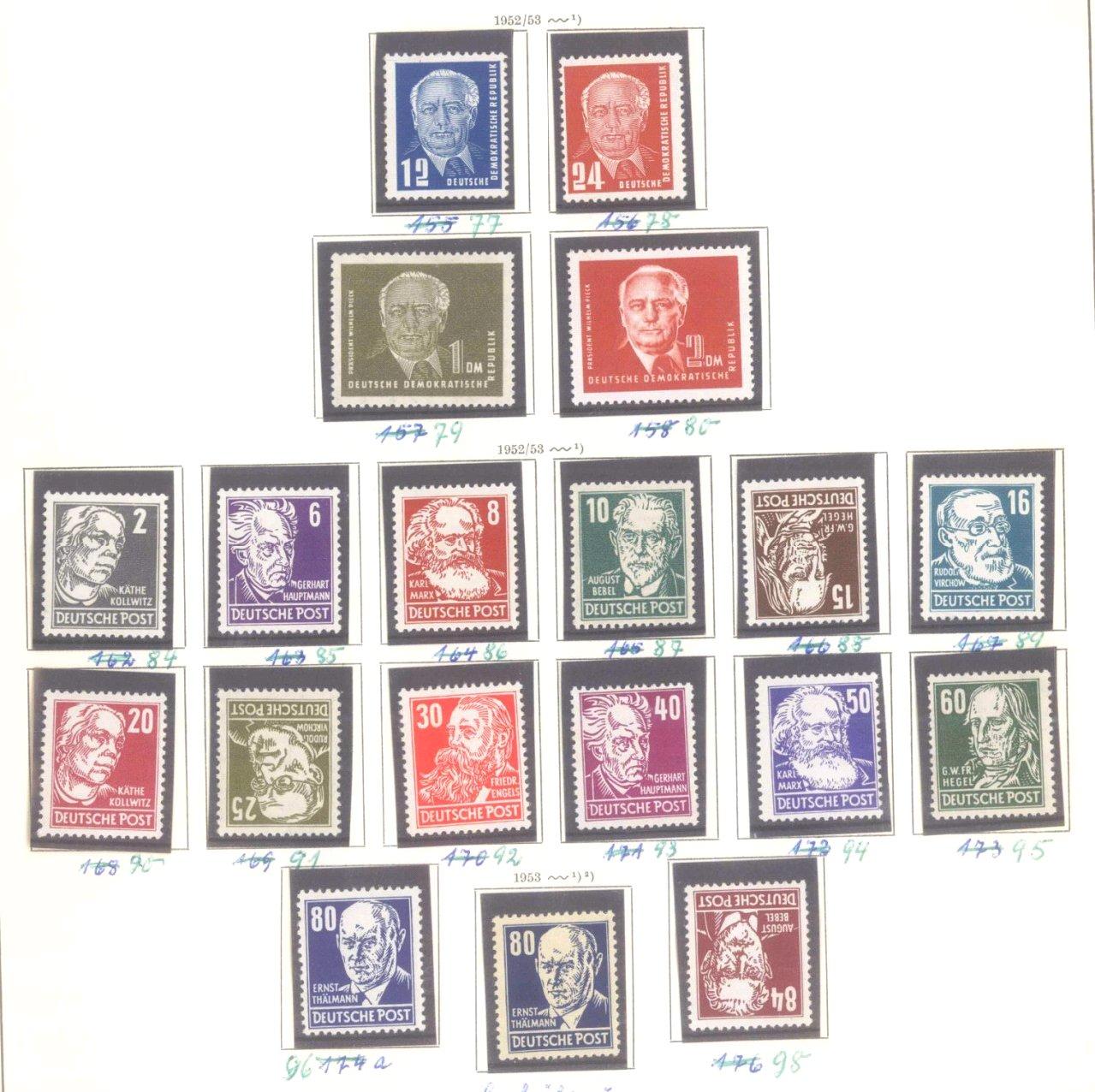 Sammlung DDR 1949-1990 + FDCs, Briefe…-5