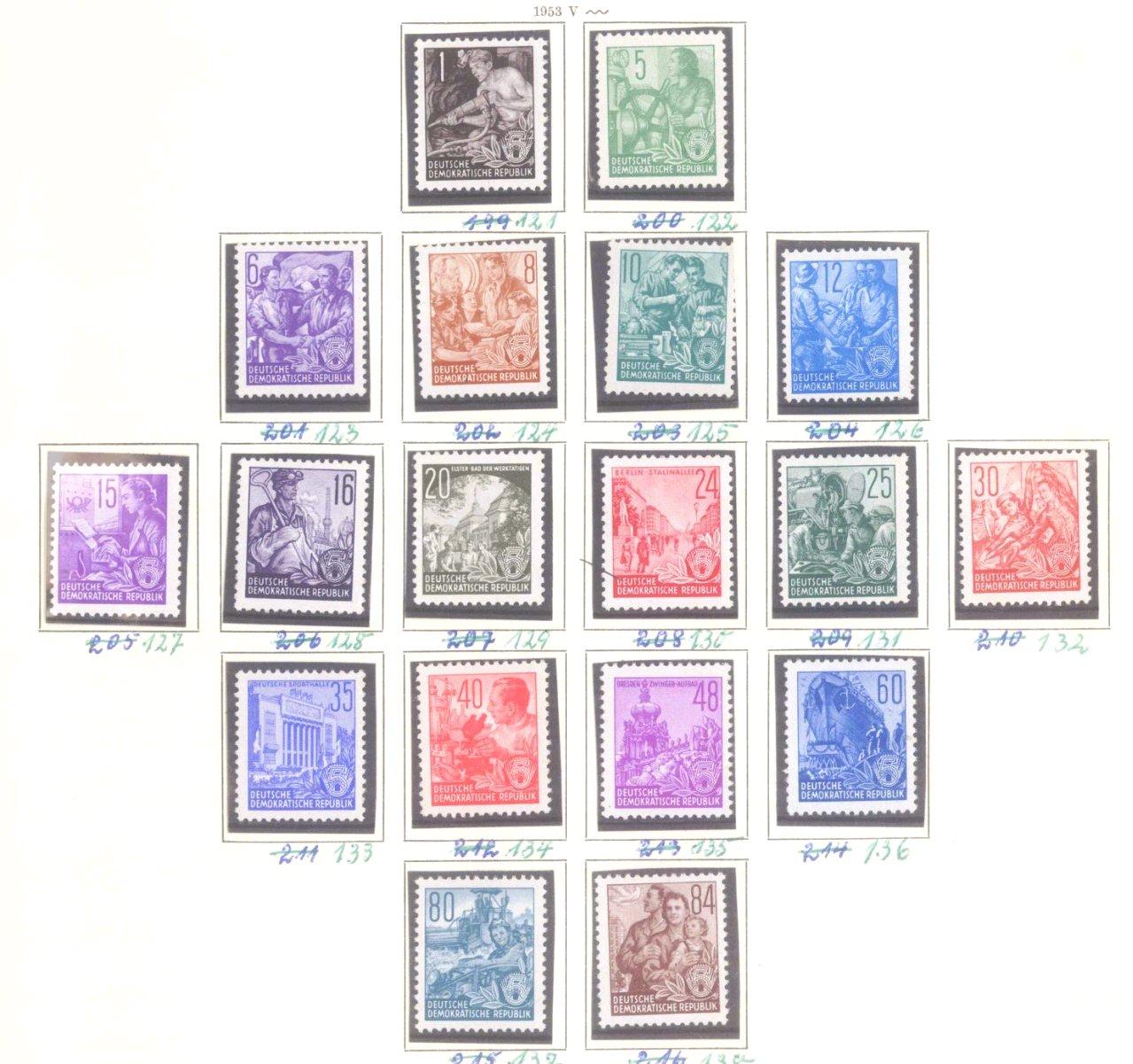 Sammlung DDR 1949-1990 + FDCs, Briefe…-6