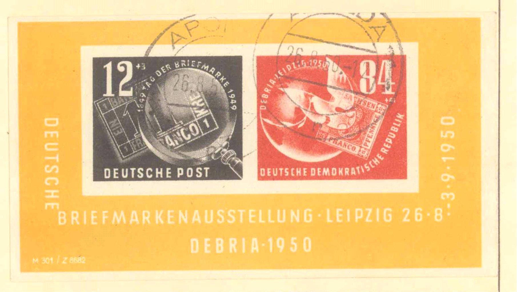Sammlung DDR 1949-1990 + FDCs, Briefe…-10