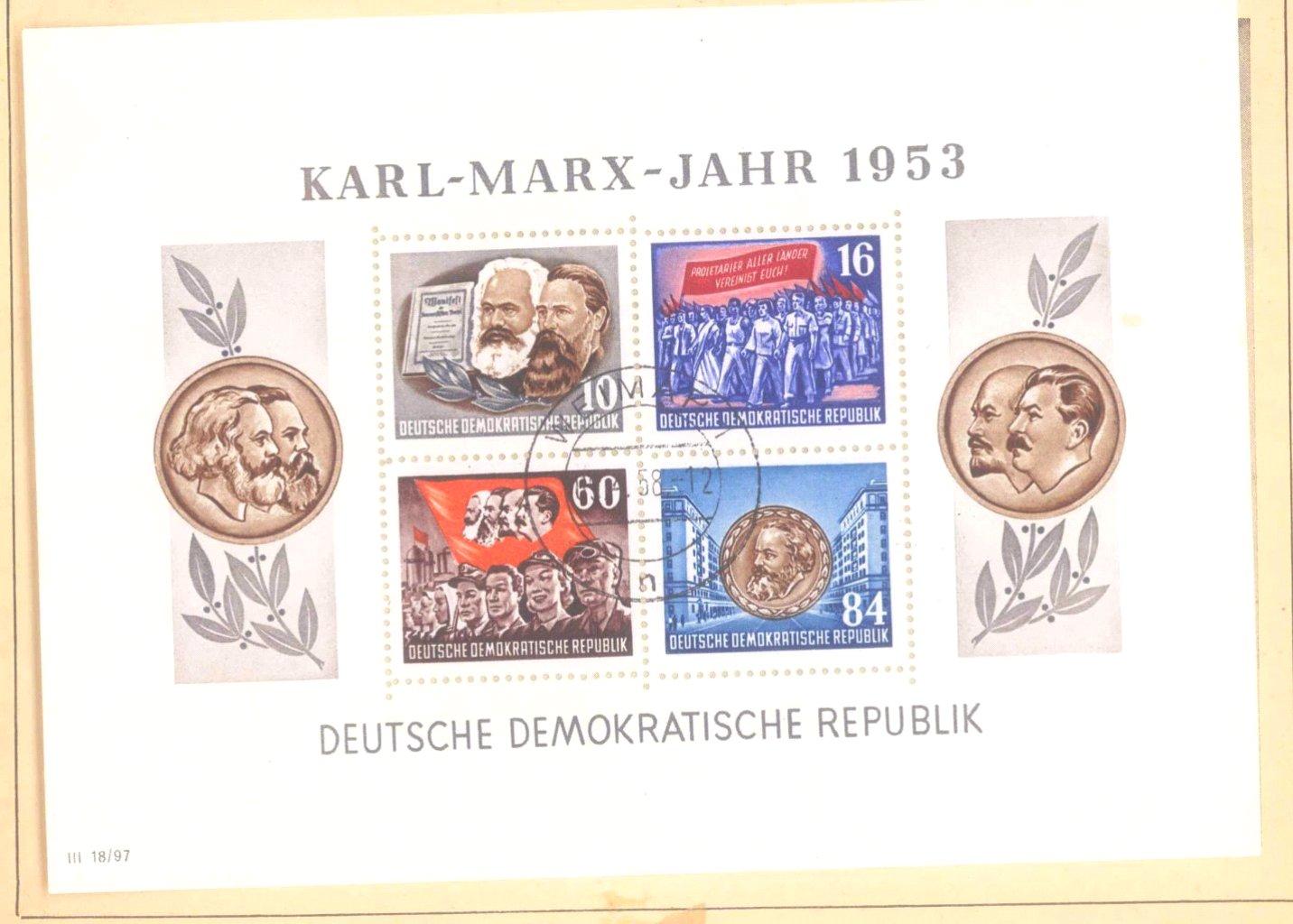 Sammlung DDR 1949-1990 + FDCs, Briefe…-15