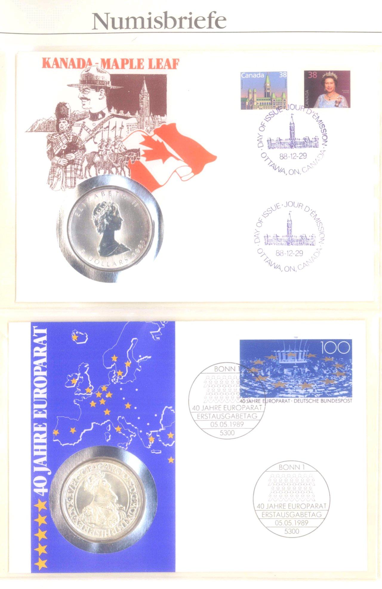 Sammlung Numisbriefe-13