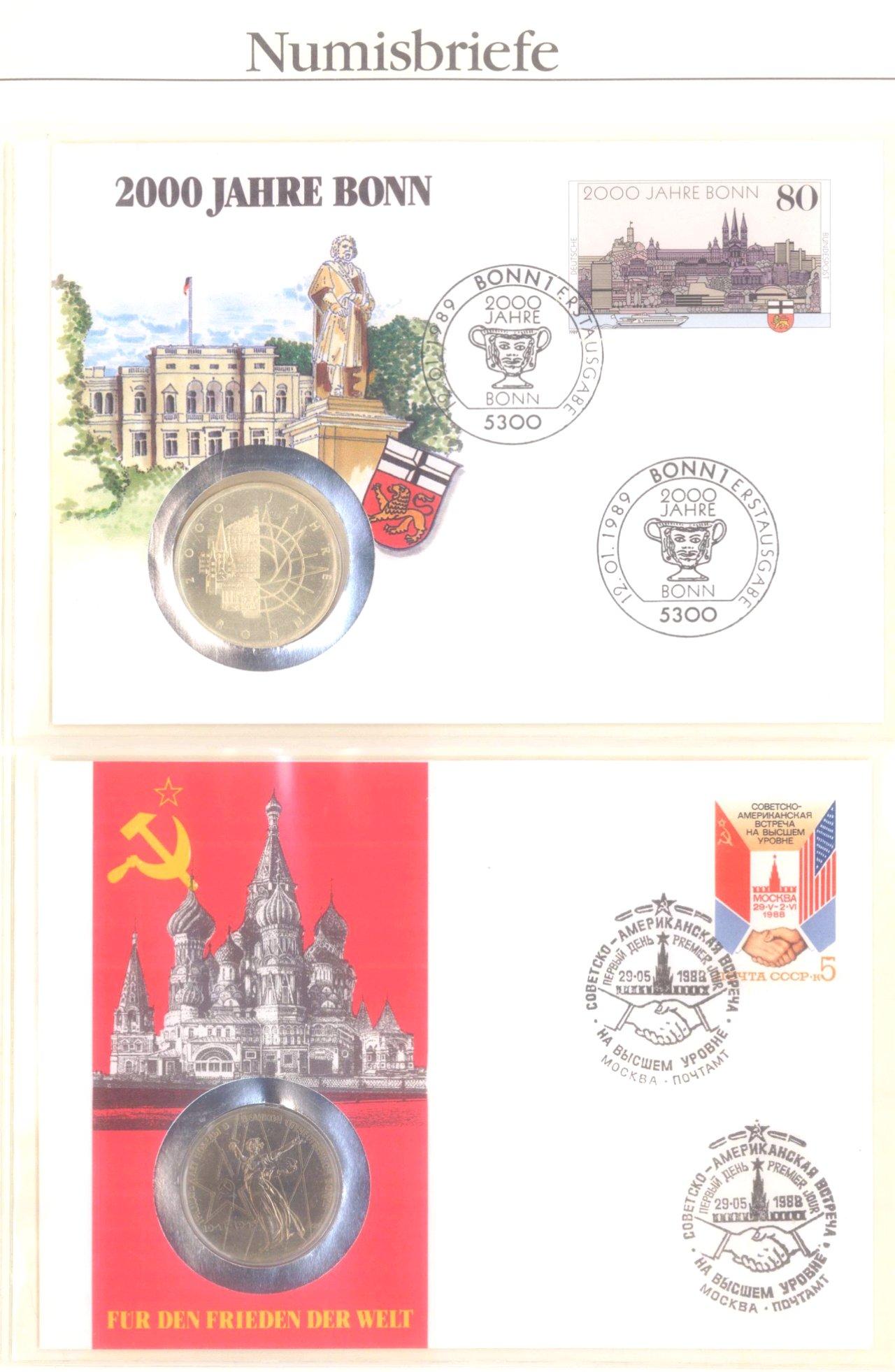 Sammlung Numisbriefe-16