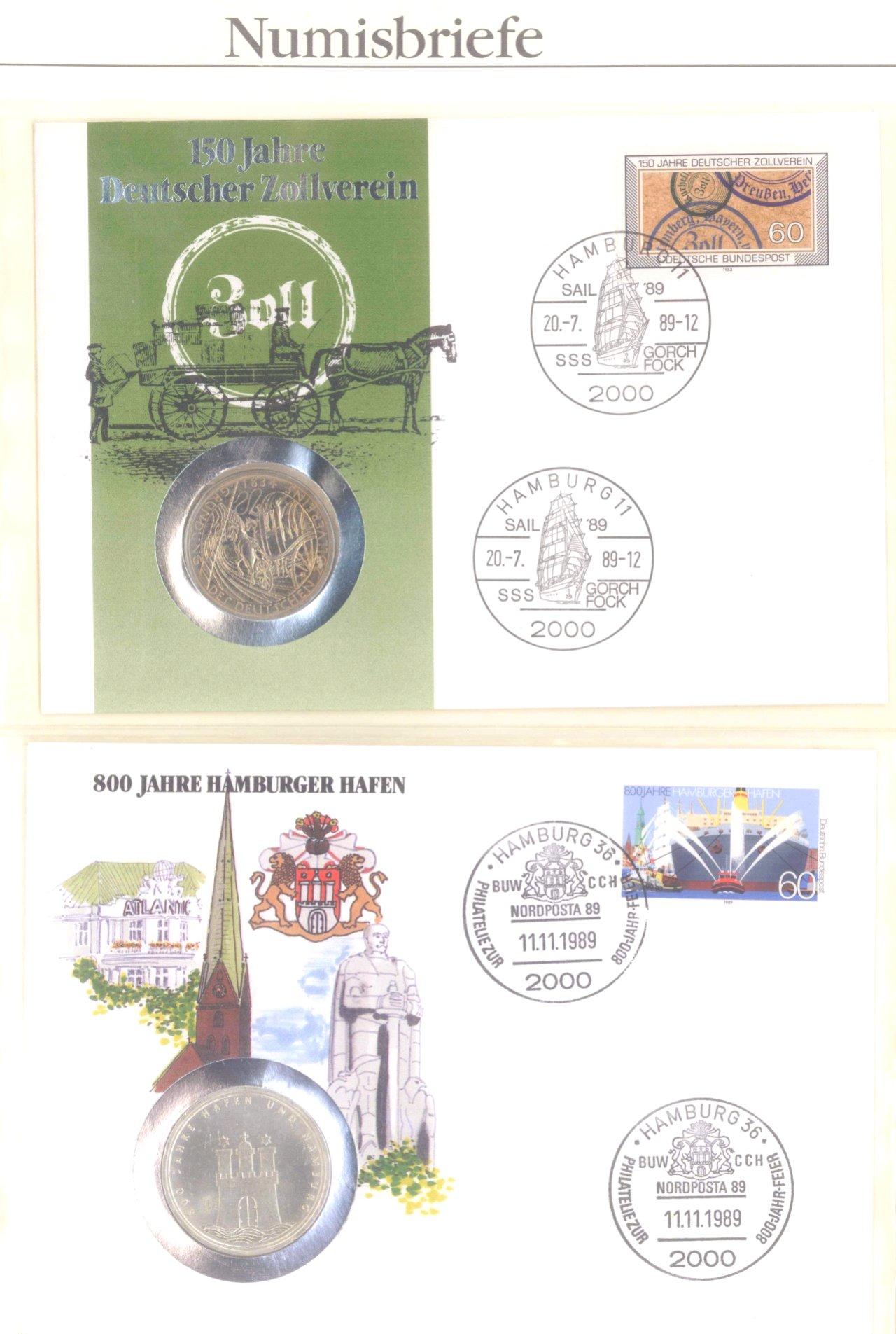 Sammlung Numisbriefe-17