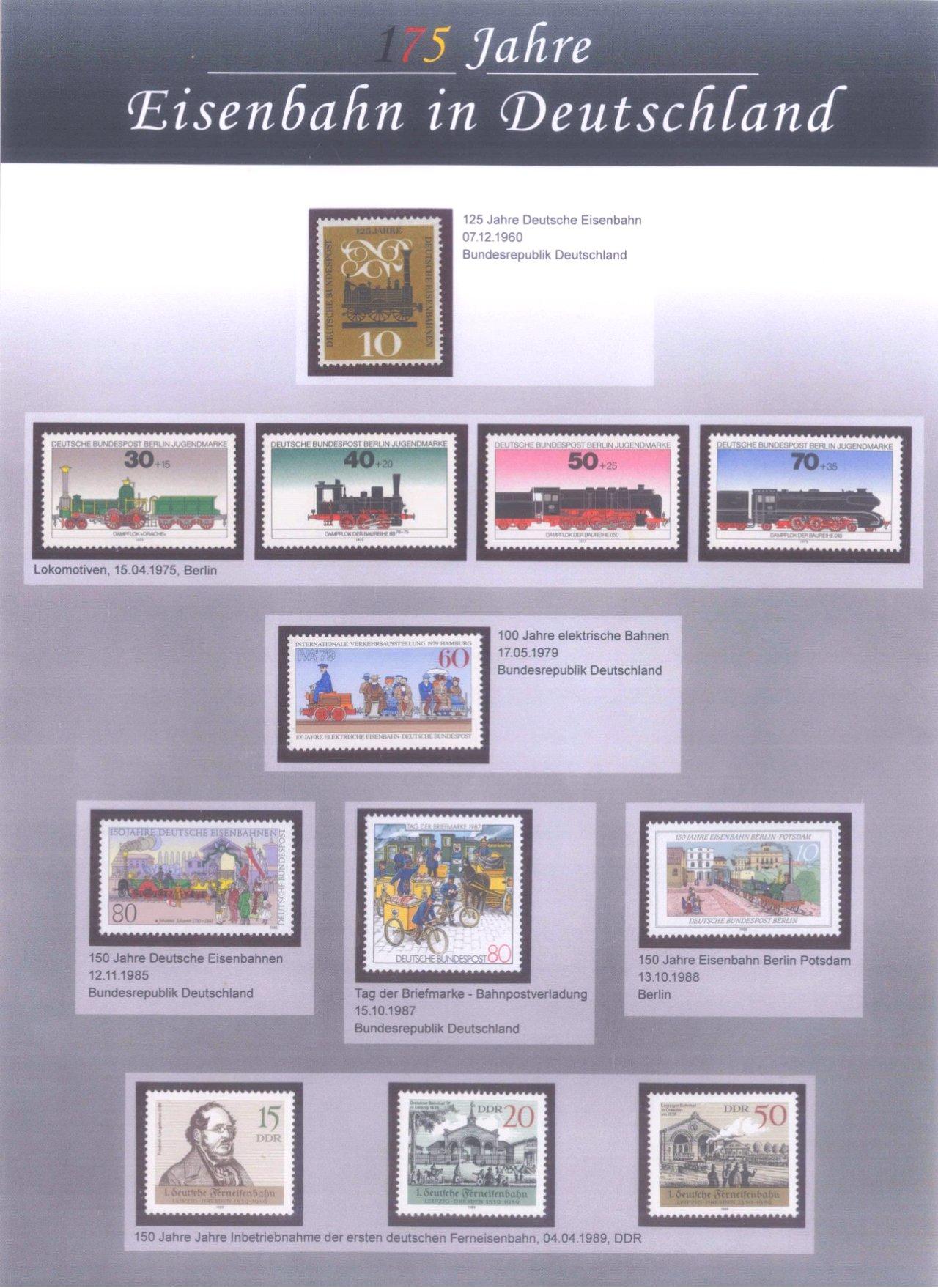 2 Alben Numisbriefe, Briefmarken