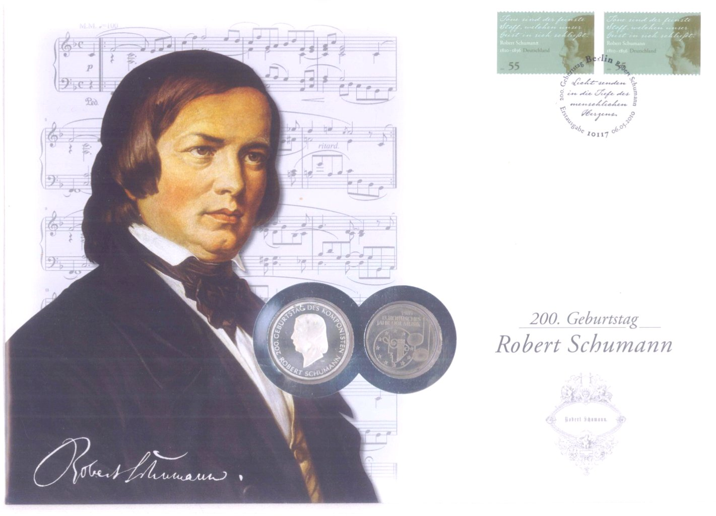 2 Alben Numisbriefe, Briefmarken-2