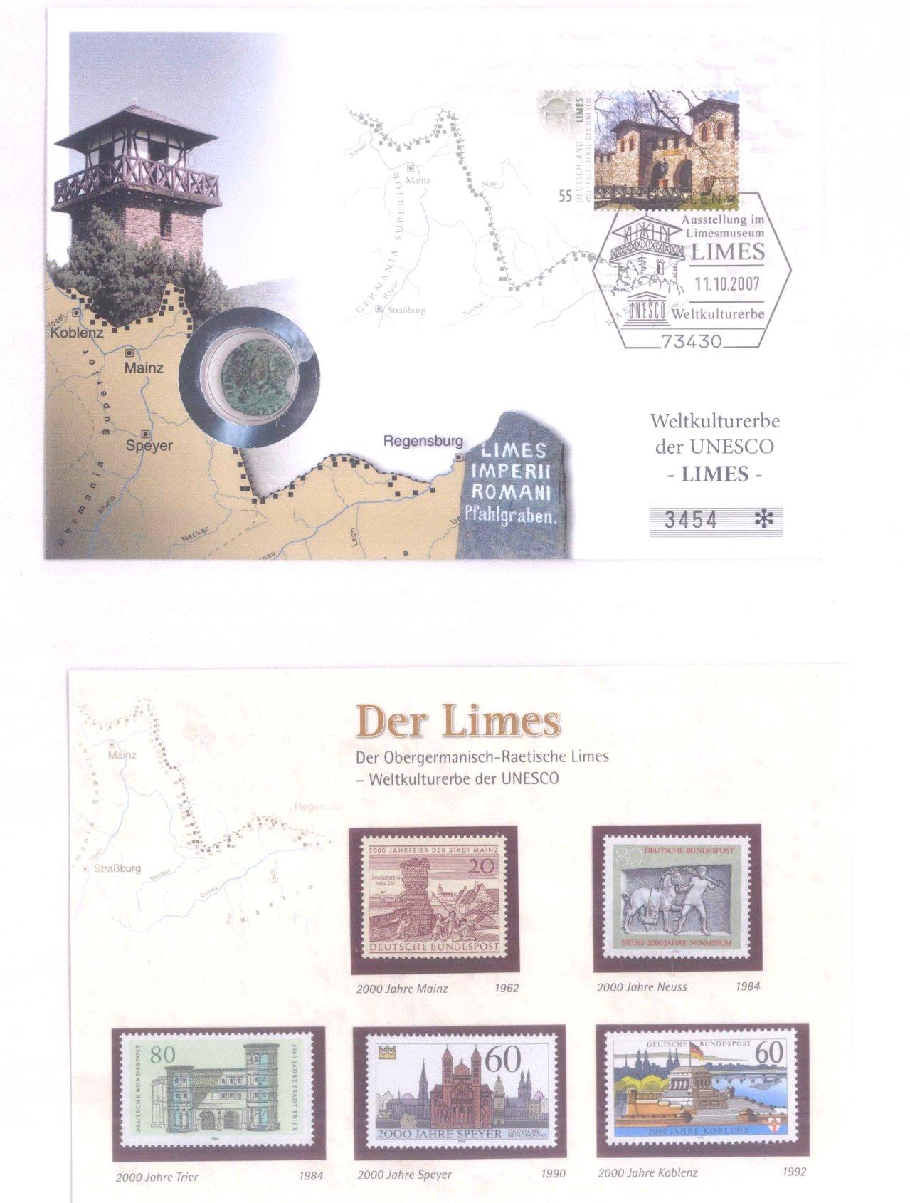 2 Alben Numisbriefe, Briefmarken-3