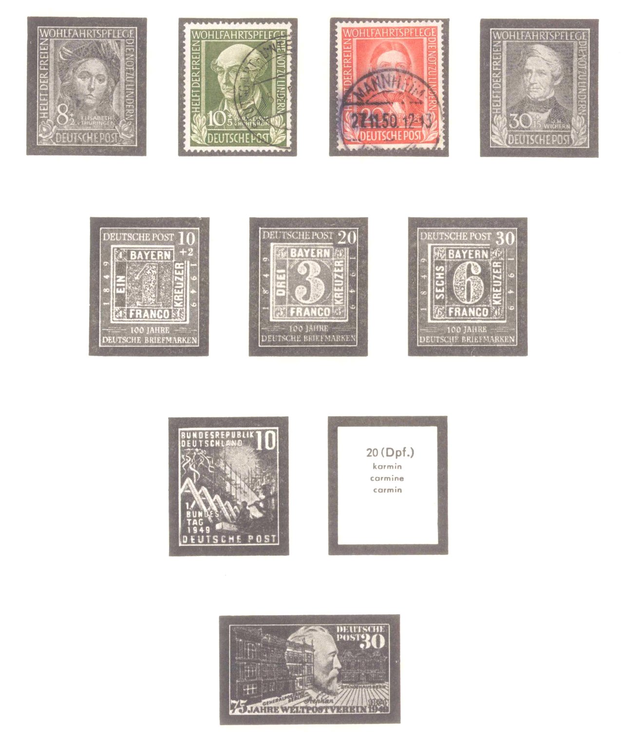 Briefmarken Nachlass-5