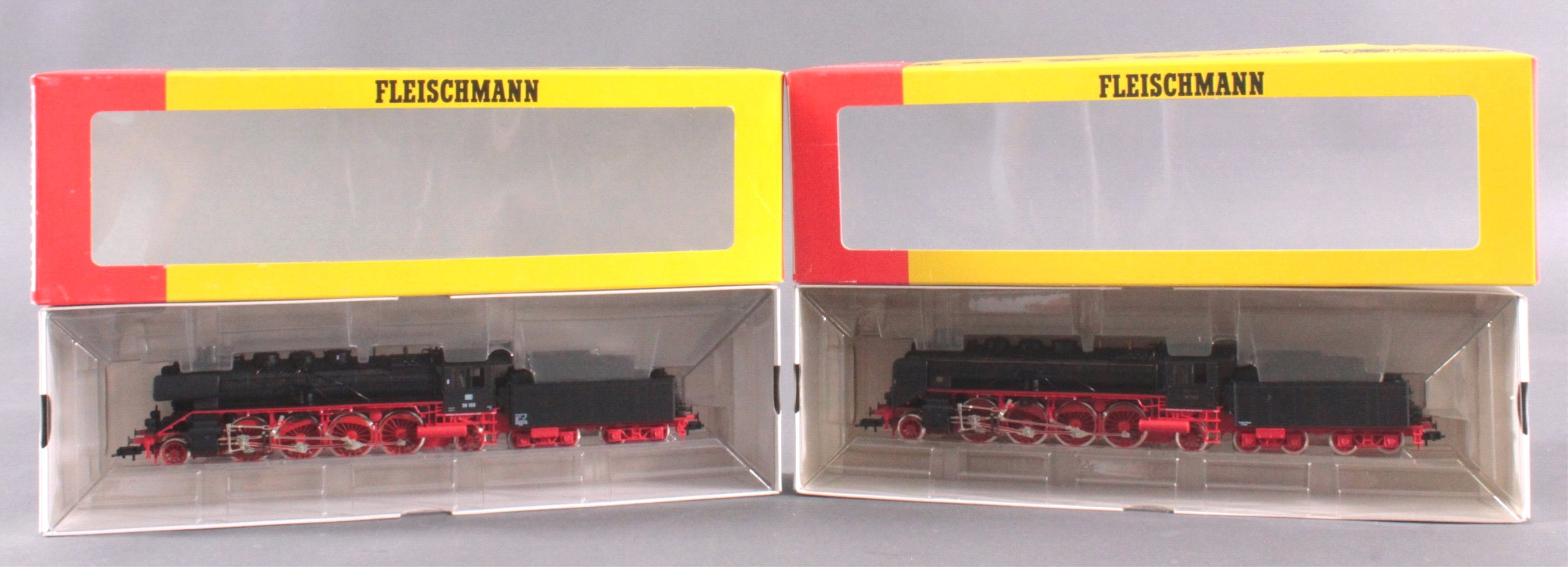 Fleischmann Dampfloks BR 39 103 und BR 39 204 Spur H0