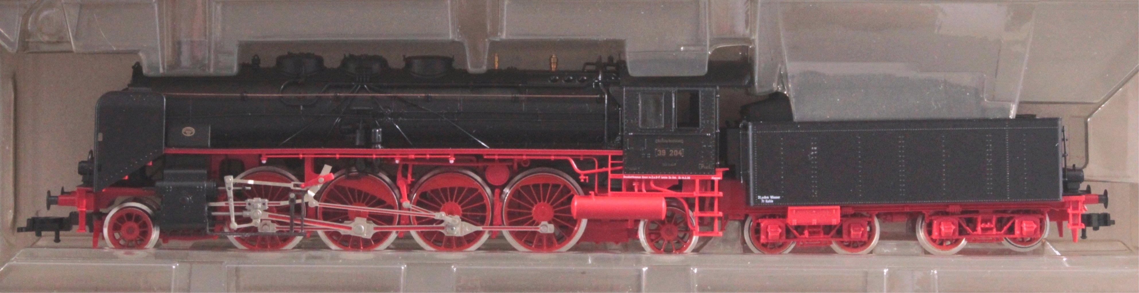 Fleischmann Dampfloks BR 39 103 und BR 39 204 Spur H0-2