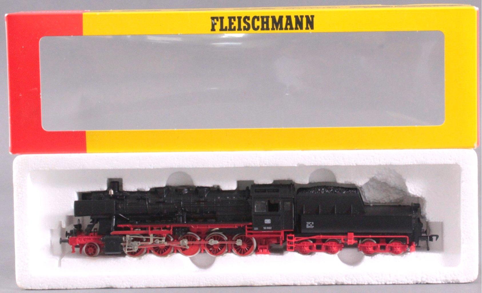 Fleischmann Dampflok mit Tender 4179 BR 50 662 Spur H0