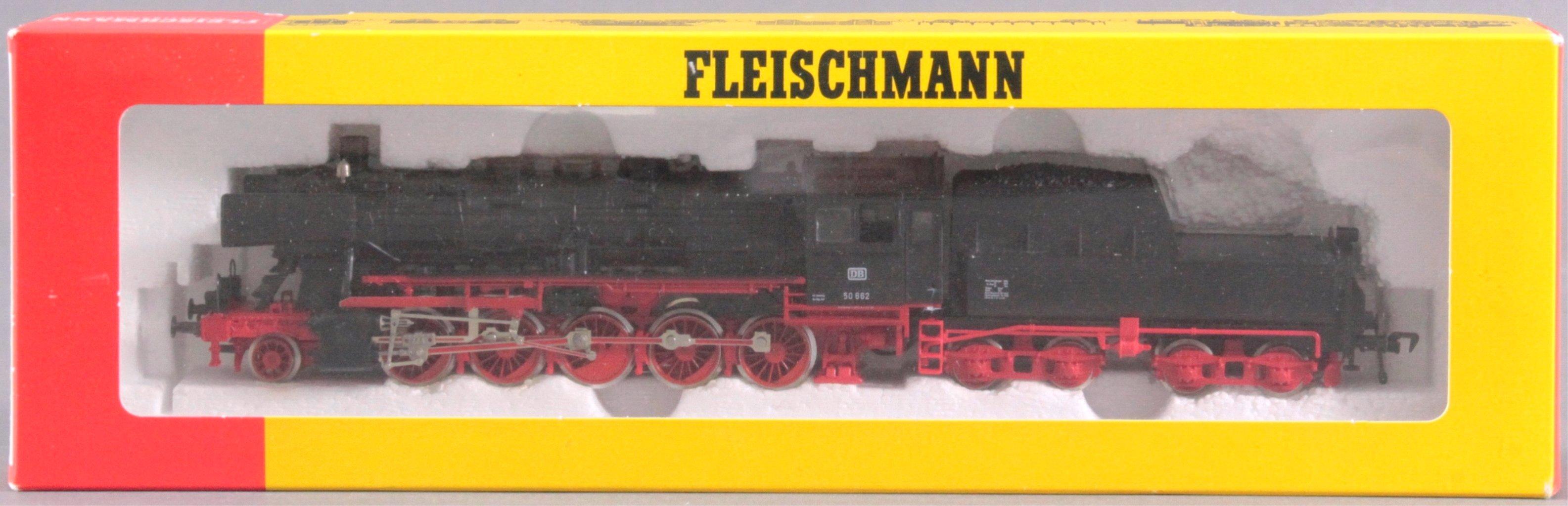 Fleischmann Dampflok mit Tender 4179 BR 50 662 Spur H0-2