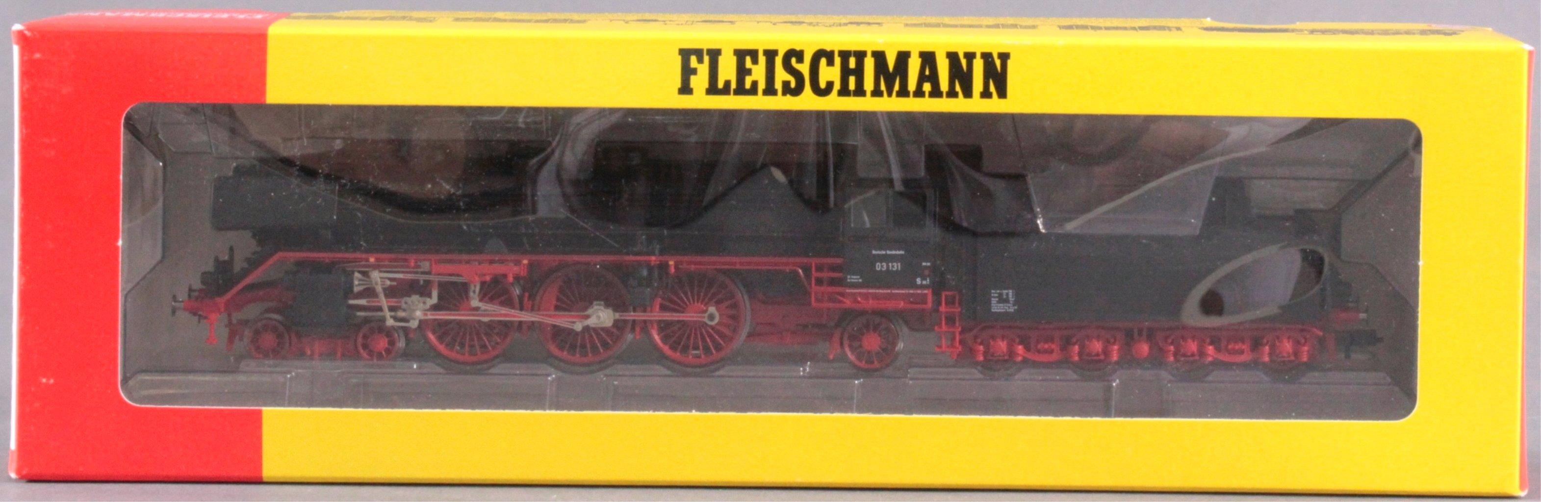Fleischmann Dampflok mit Tender 4102 BR 03 131 Spur H0-2