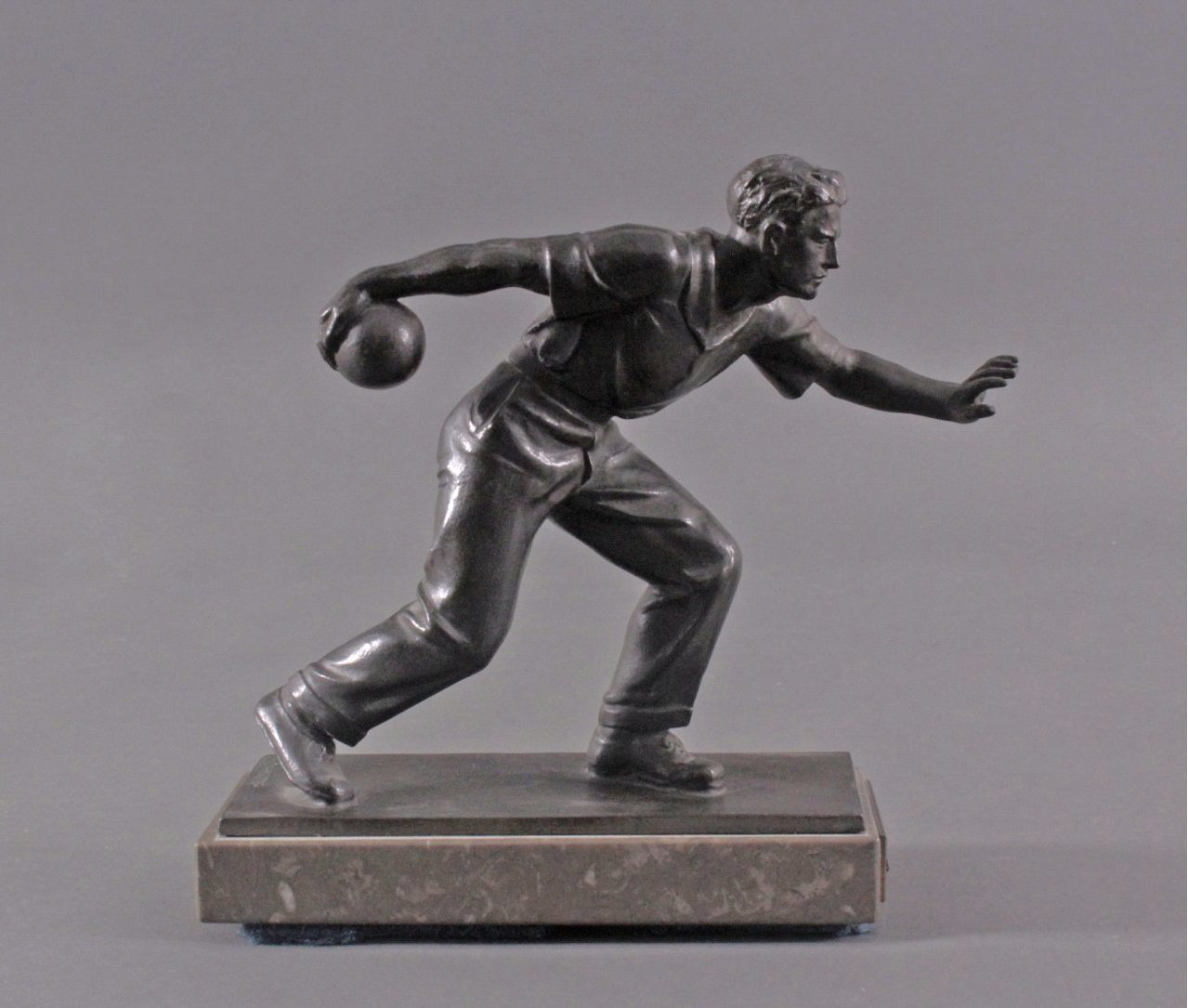 Hendrik Scholter (XX). Bronzeskulptur-2