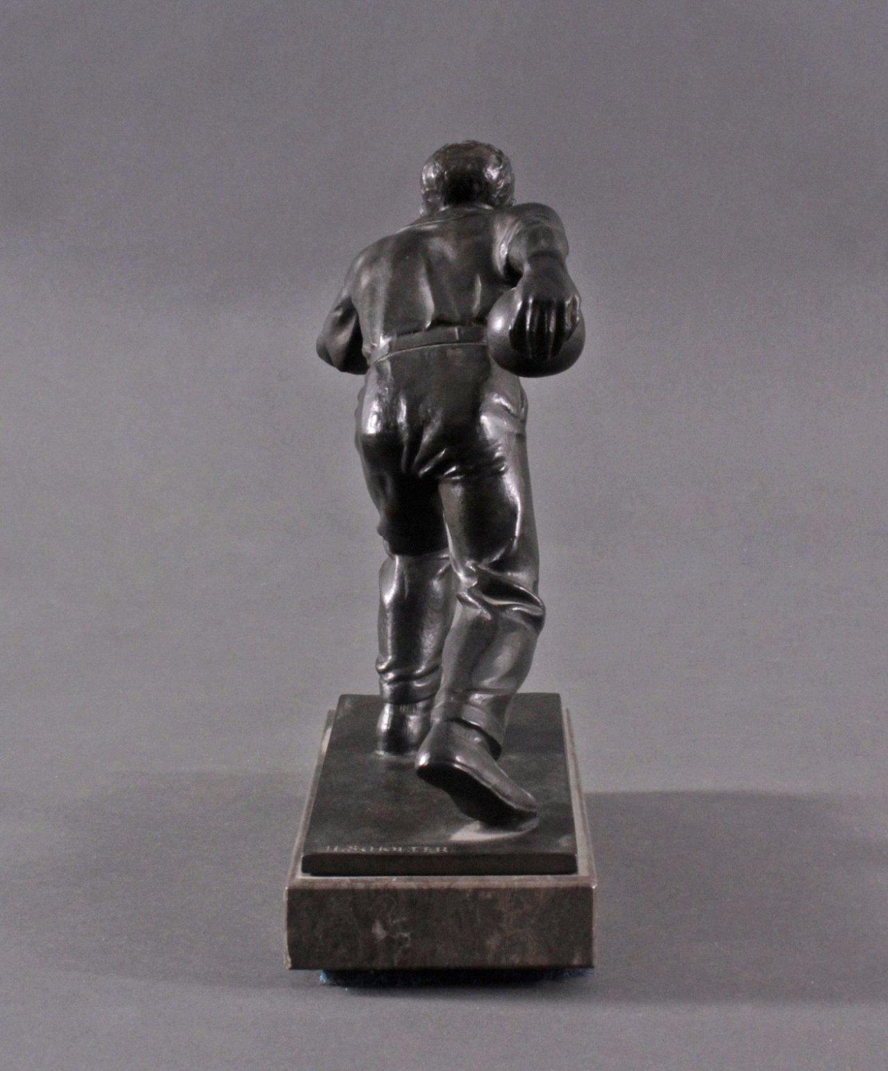 Hendrik Scholter (XX). Bronzeskulptur-3