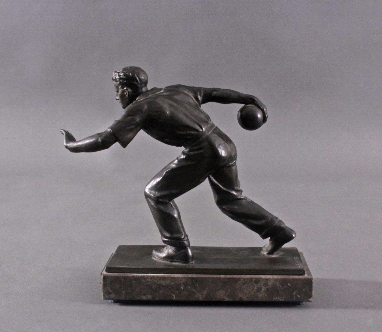 Hendrik Scholter (XX). Bronzeskulptur-4